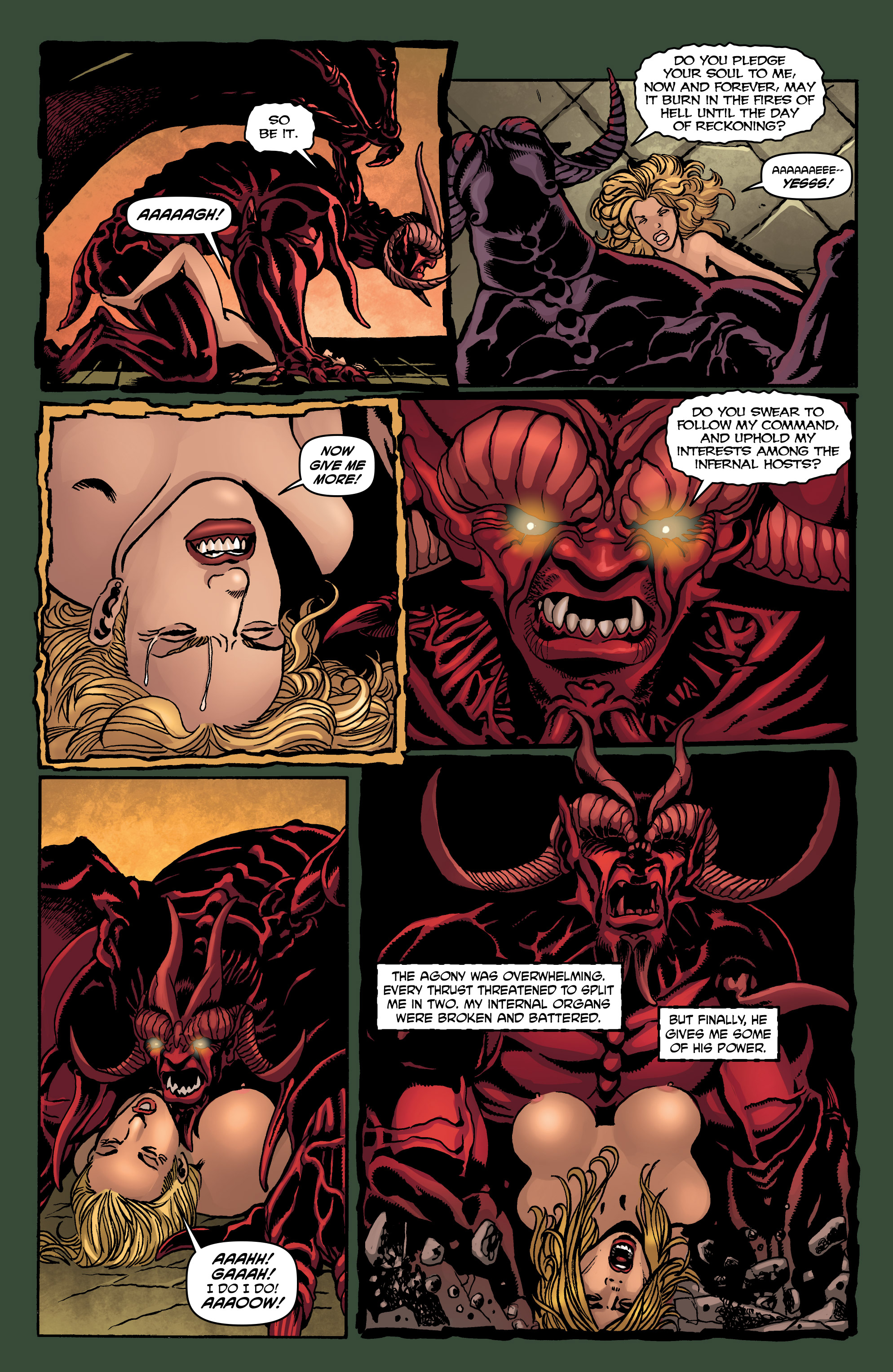 Read online Hellina: Scythe comic -  Issue #4 - 32