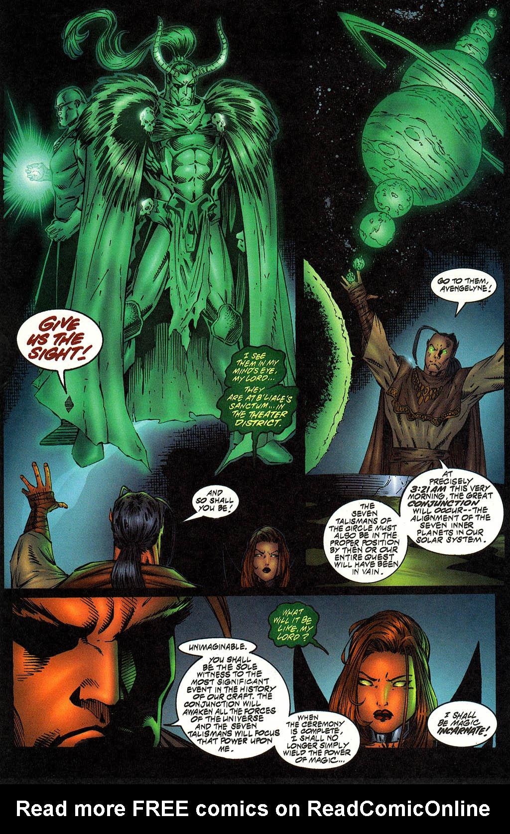 Read online Avengelyne (1996) comic -  Issue #12 - 5