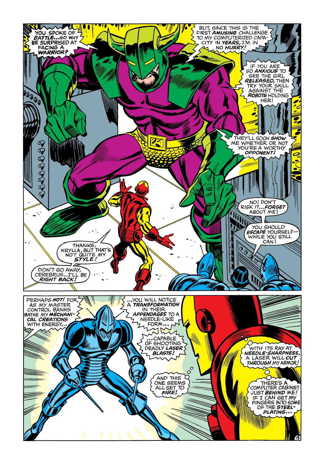 Read online Marvel Masterworks: The Invincible Iron Man comic -  Issue # TPB 5 (Part 1) - 85