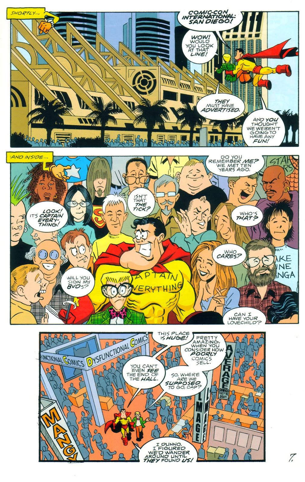 Read online Normalman 20th Anniversary Special comic -  Issue # Full - 9