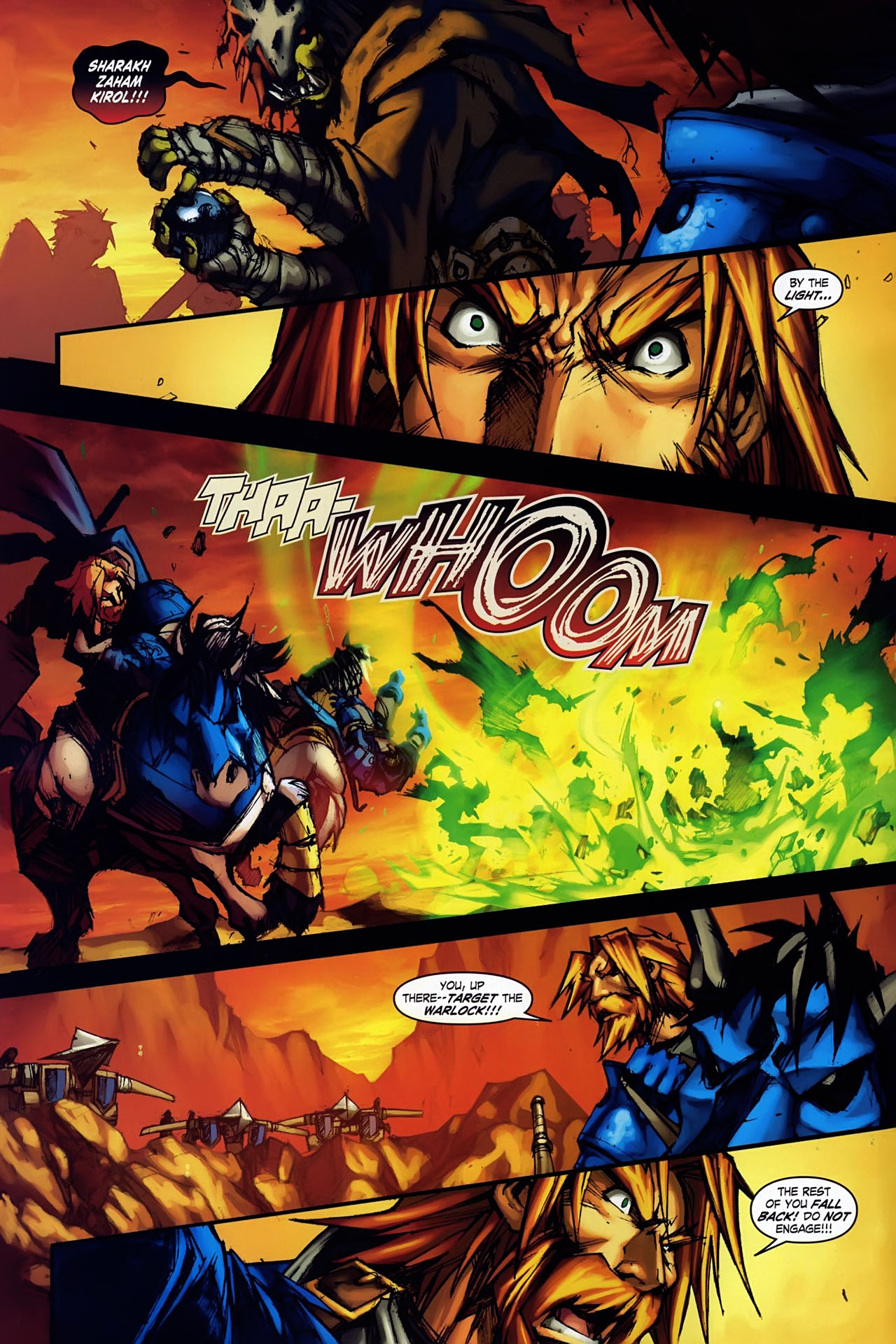 Read online World of Warcraft: Ashbringer comic -  Issue #1 - 5