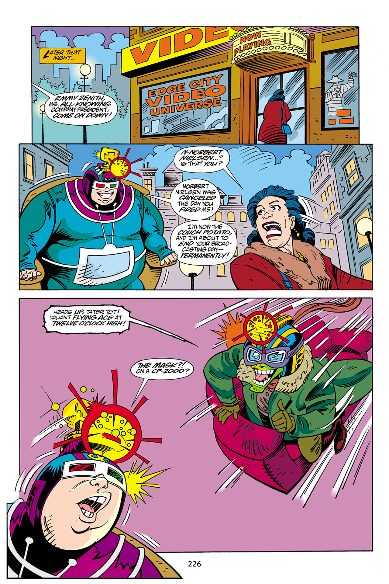 Read online Adventures Of The Mask Omnibus comic -  Issue #Adventures Of The Mask Omnibus Full - 225