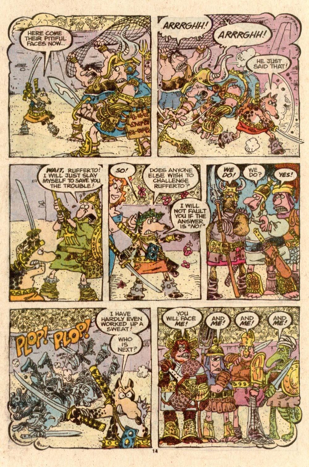Read online Sergio Aragonés Groo the Wanderer comic -  Issue #44 - 14