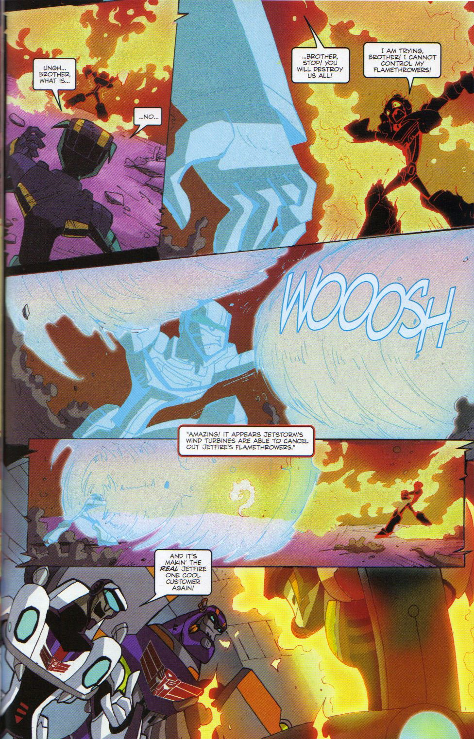 Read online Transformers Animated: The Arrival comic -  Issue #6 - 23