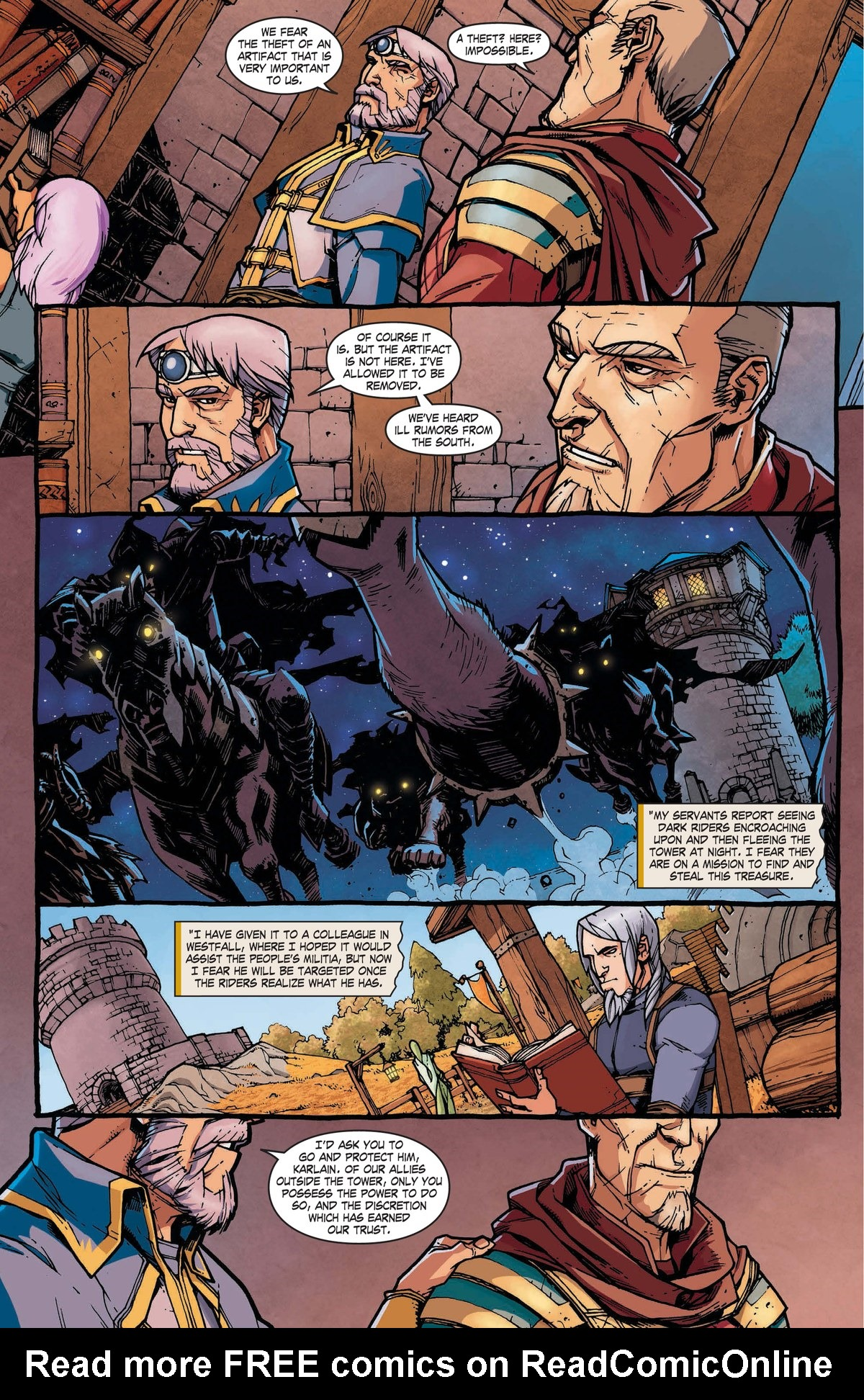 Read online World of Warcraft: Dark Riders comic -  Issue # Full - 17