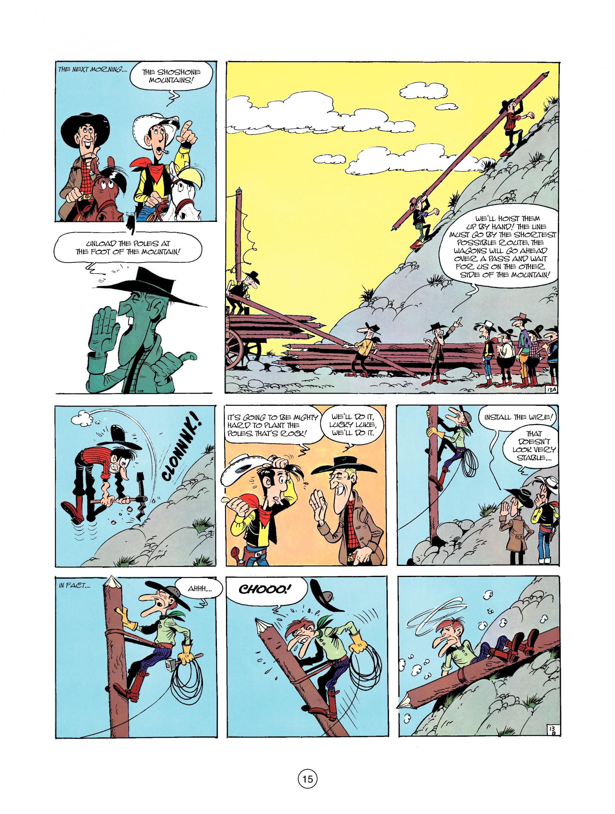 Read online A Lucky Luke Adventure comic -  Issue #35 - 15