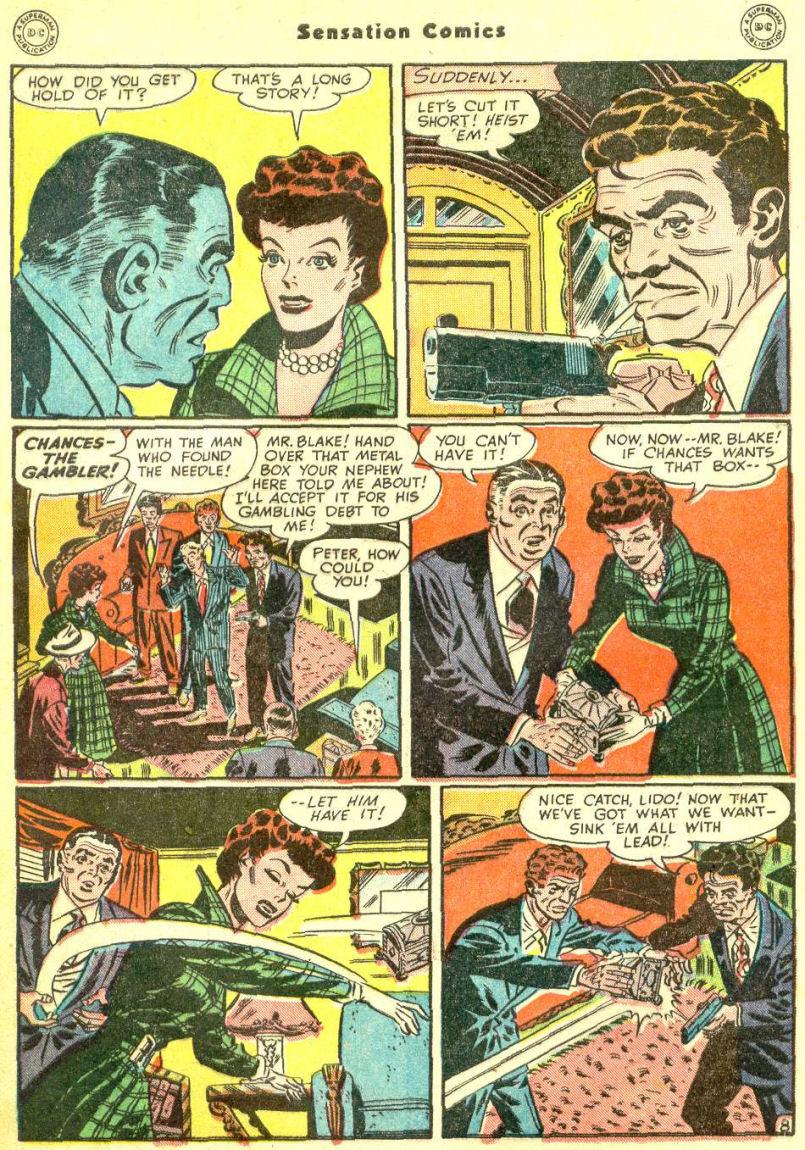 Read online Sensation (Mystery) Comics comic -  Issue #87 - 47