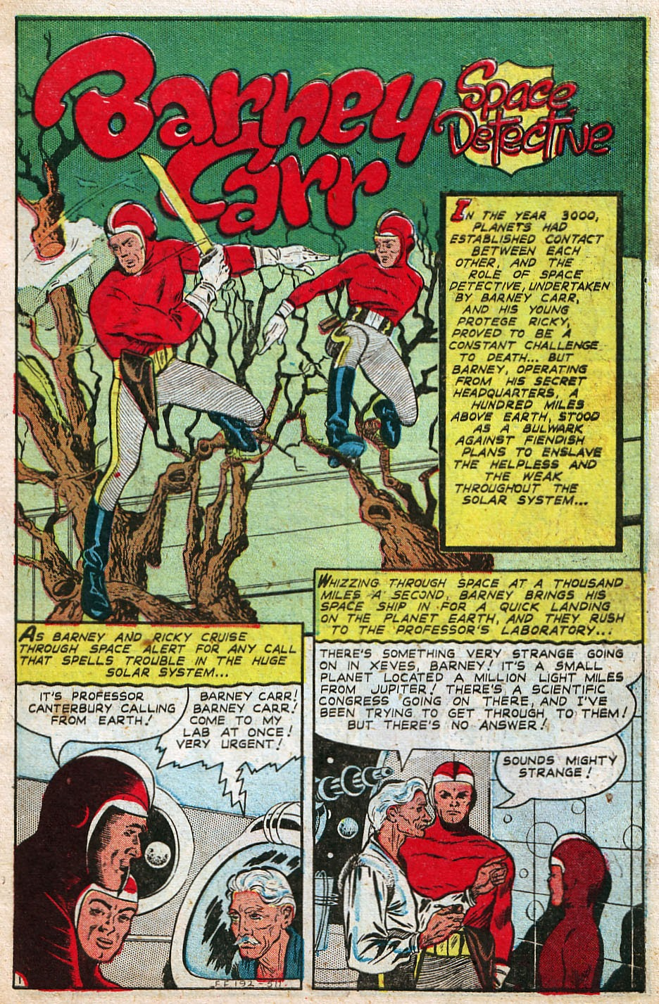 Read online Famous Funnies comic -  Issue #192 - 3