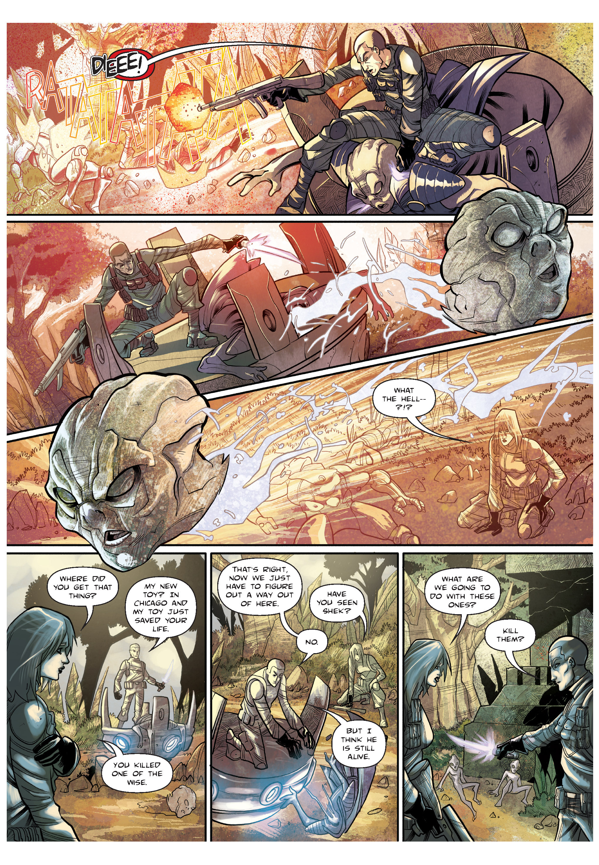 Read online The Shadow of a Terrible Thing comic -  Issue # TPB - 68