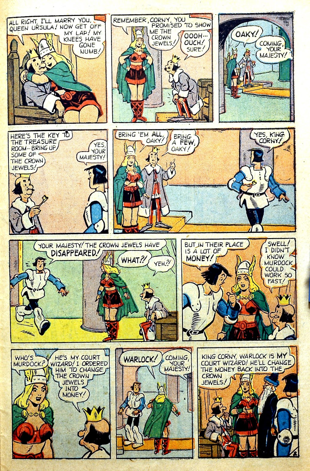 Read online Famous Funnies comic -  Issue #185 - 40