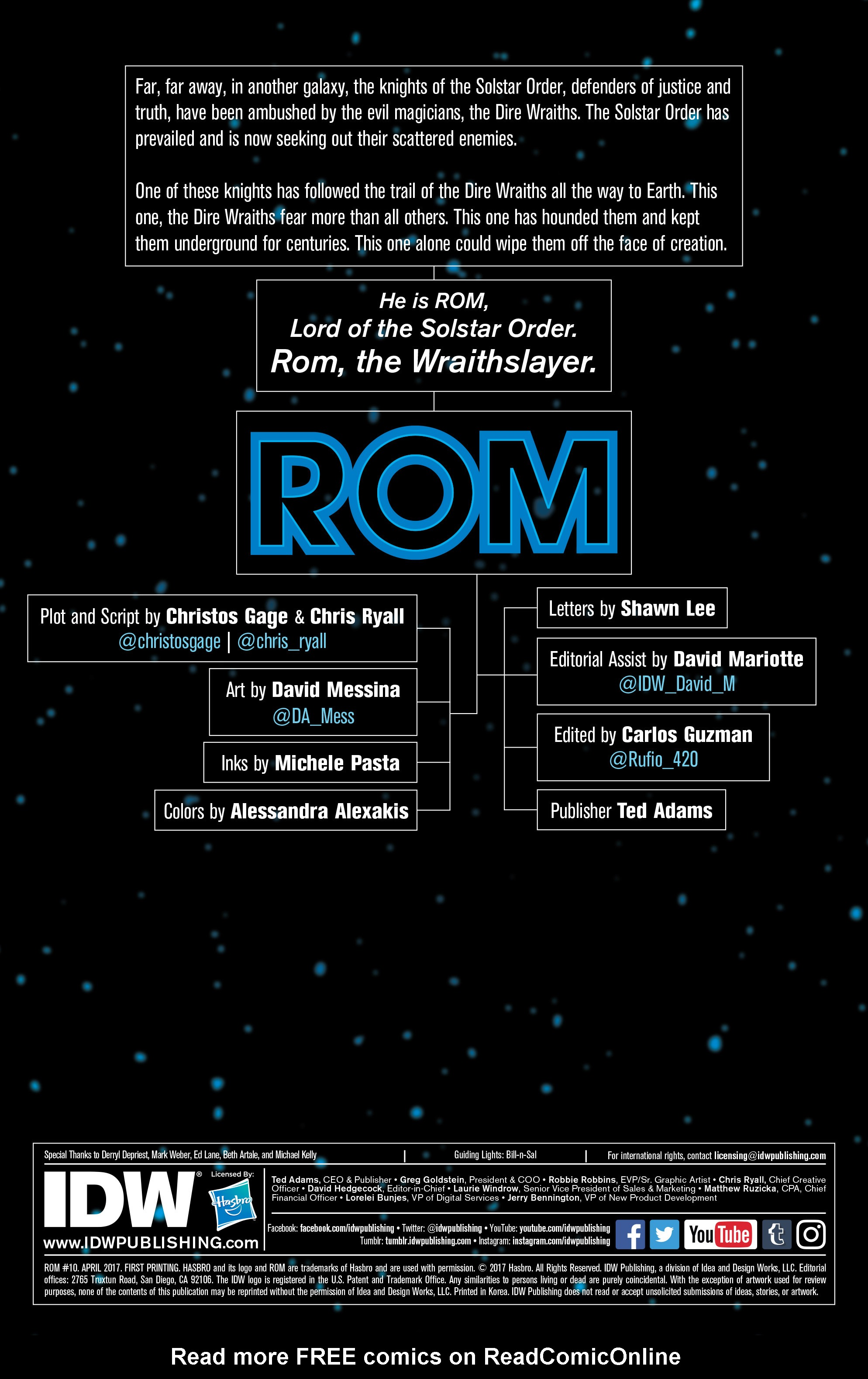 Read online ROM (2016) comic -  Issue #10 - 2