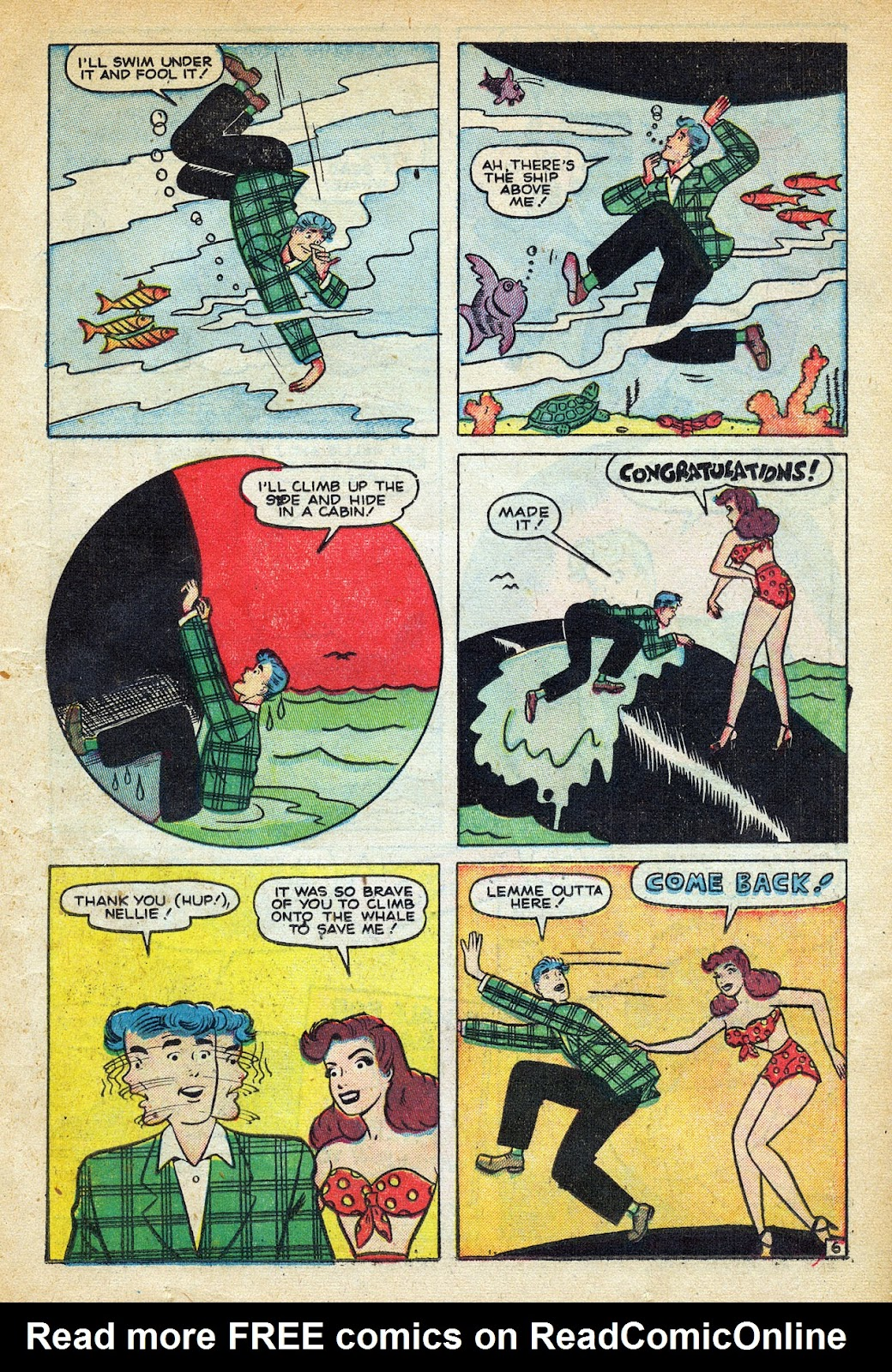 Read online Nellie The Nurse (1945) comic -  Issue #20 - 17