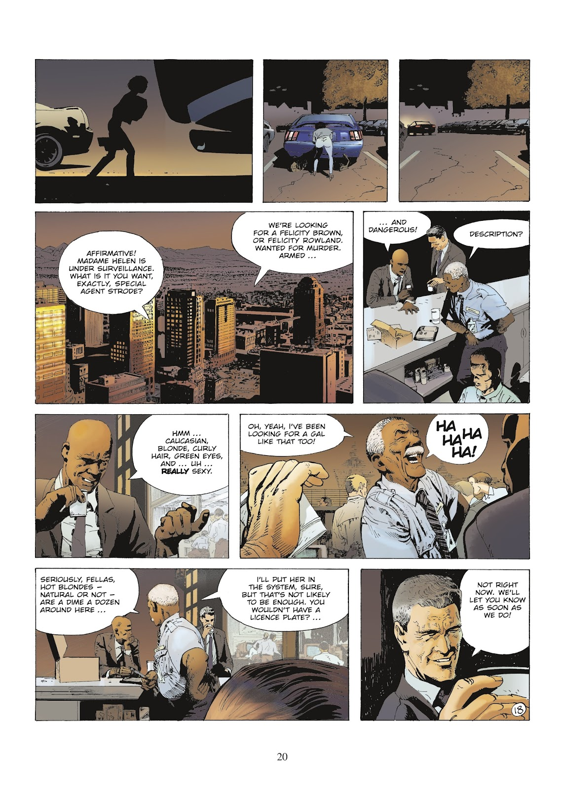XIII Mystery issue 9 - Page 22
