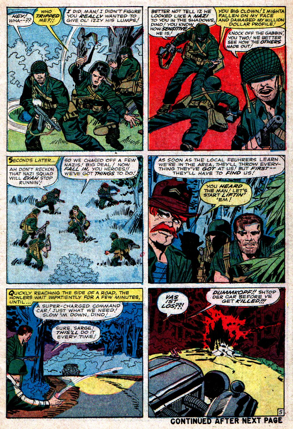 Read online Sgt. Fury comic -  Issue #7 - 7