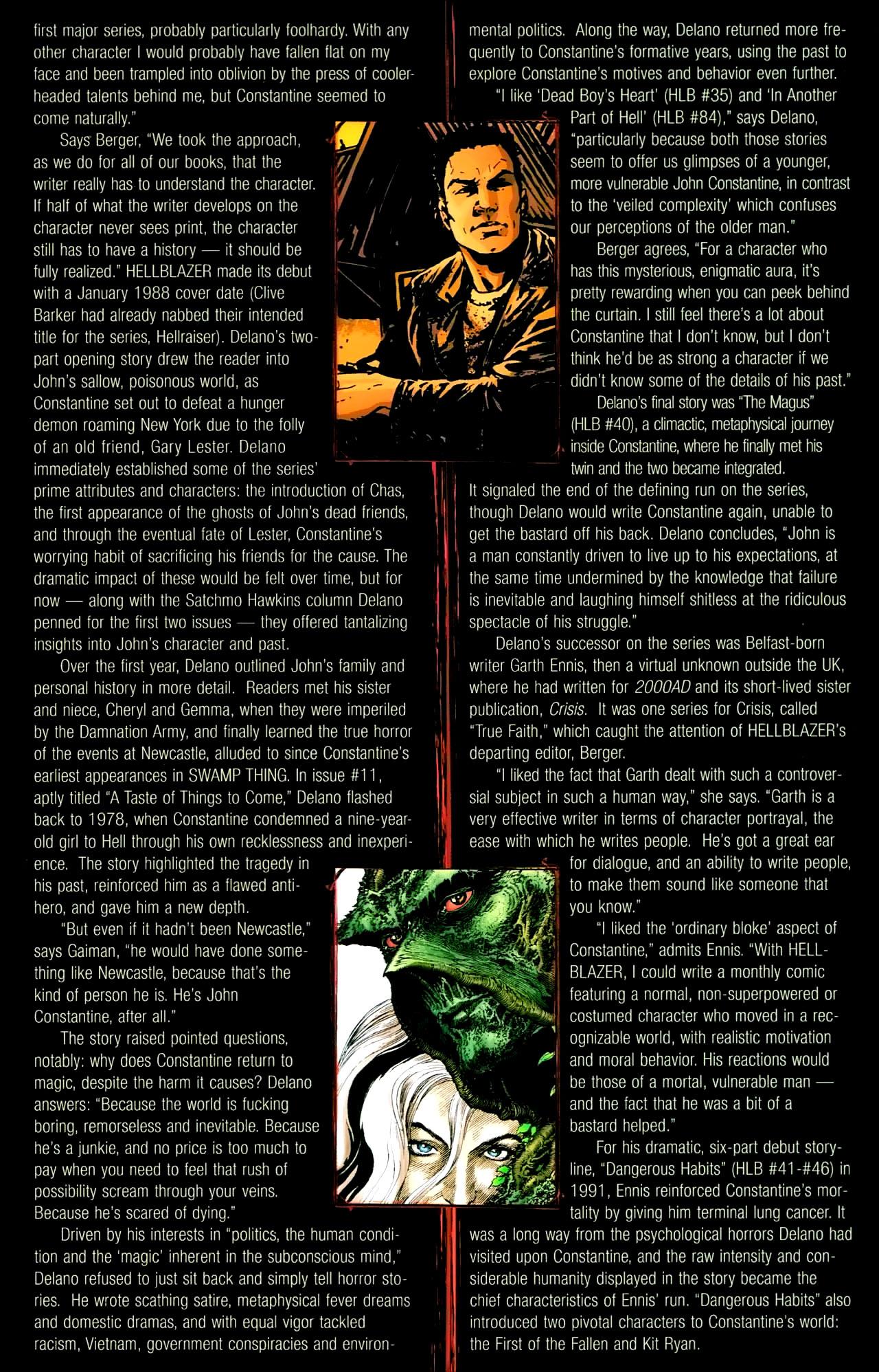 Read online John Constantine Hellblazer: All His Engines comic -  Issue # Full - 122