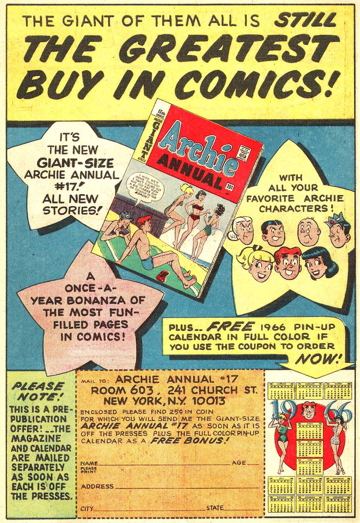 Read online Archie (1960) comic -  Issue #158 - 16