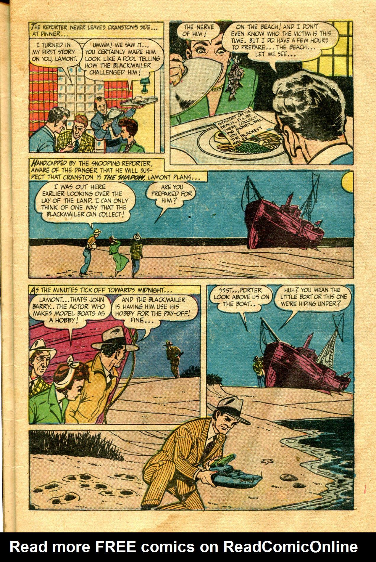Read online Shadow Comics comic -  Issue #99 - 9