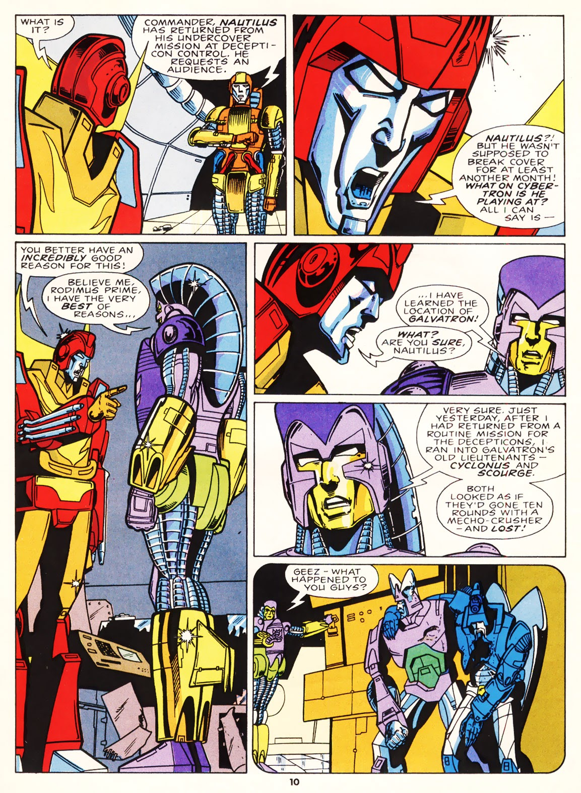 The Transformers (UK) 224 Page 1