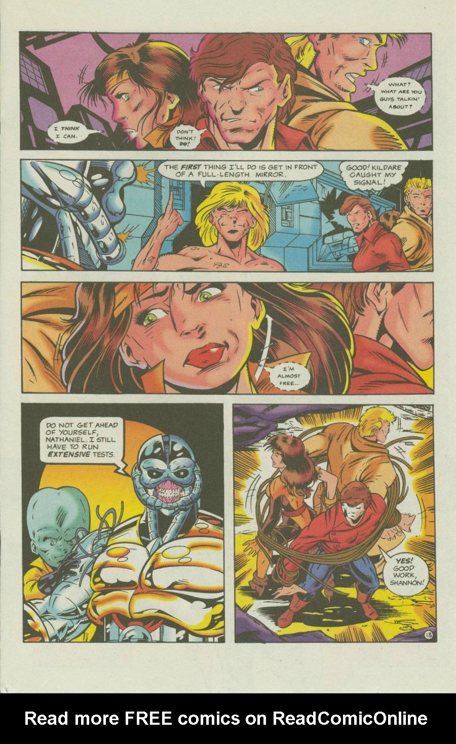 Read online Ex-Mutants comic -  Issue #7 - 16