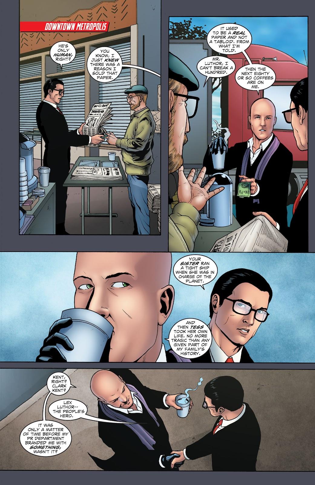 Read online Smallville Season 11 [II] comic -  Issue # TPB 1 - 23