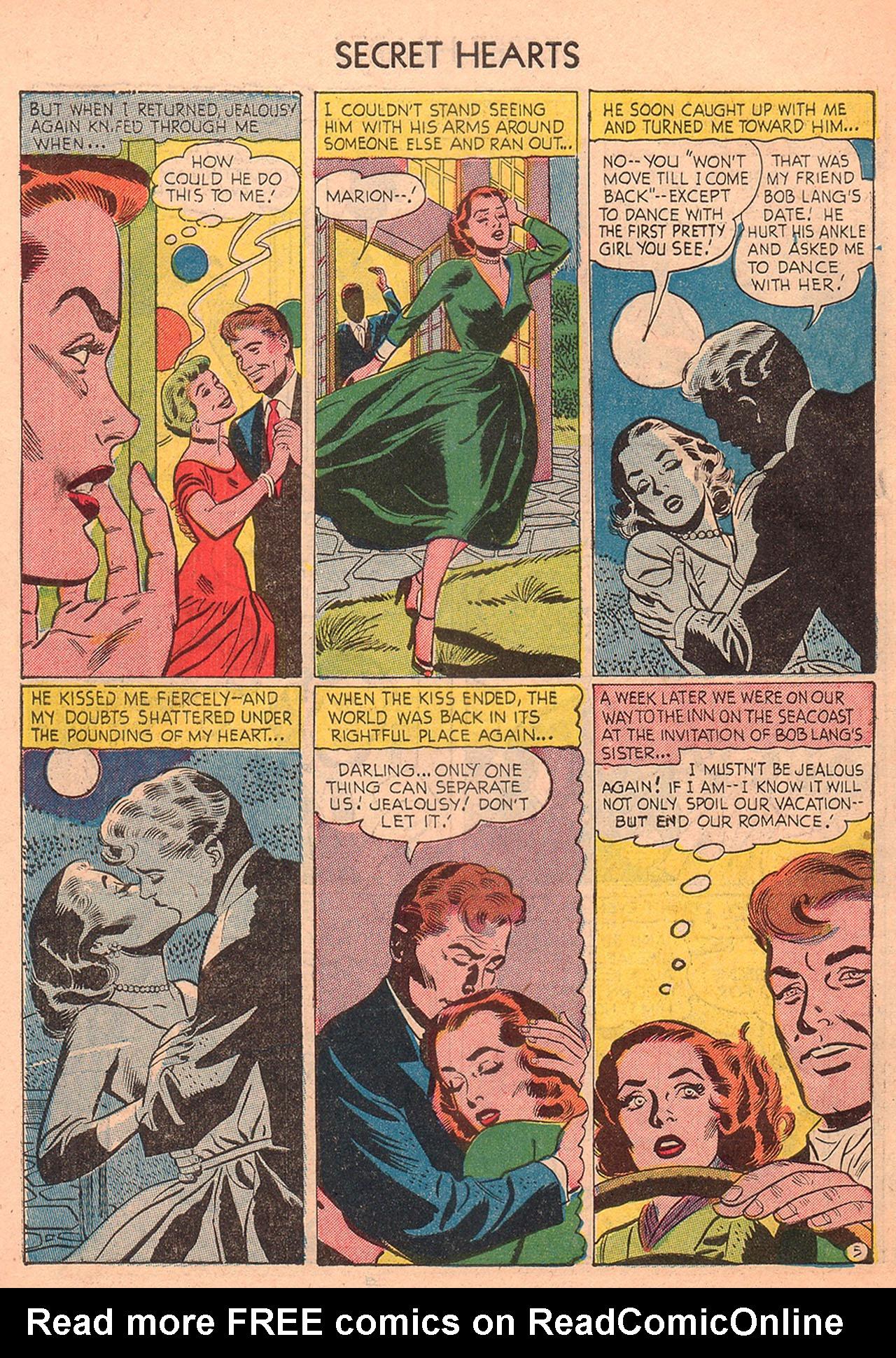 Read online Secret Hearts comic -  Issue #23 - 30