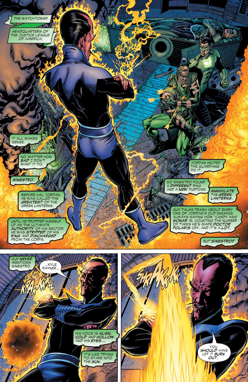 Read online Green Lantern by Geoff Johns comic -  Issue # TPB 1 (Part 1) - 91