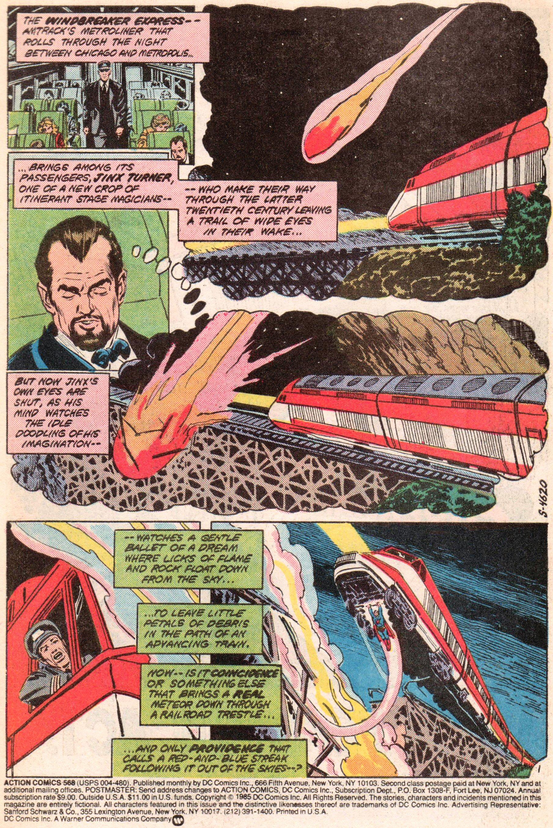 Action Comics (1938) 568 Page 2