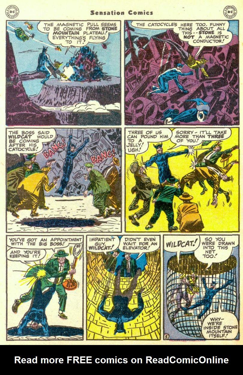 Read online Sensation (Mystery) Comics comic -  Issue #67 - 46