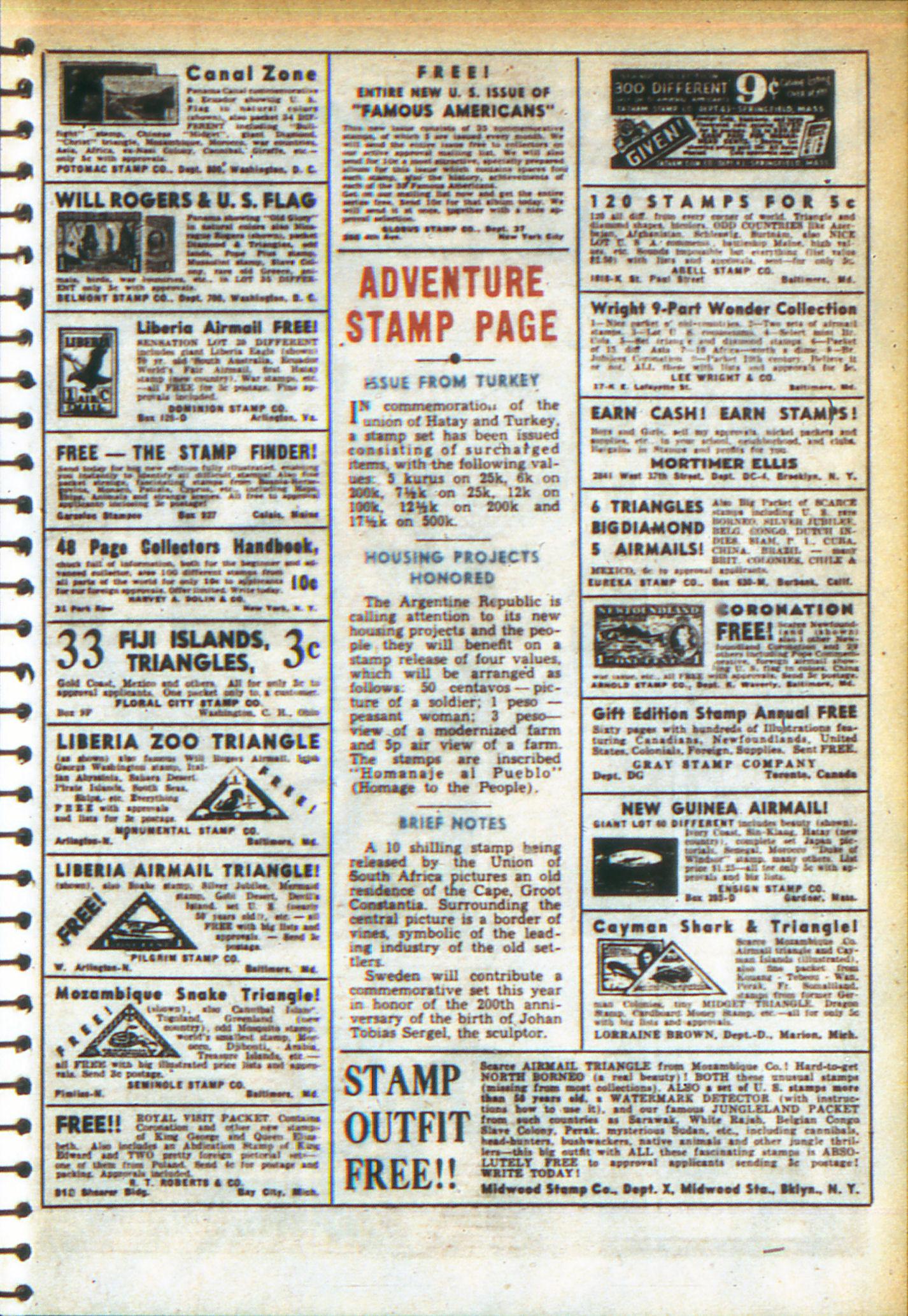 Read online Adventure Comics (1938) comic -  Issue #49 - 17