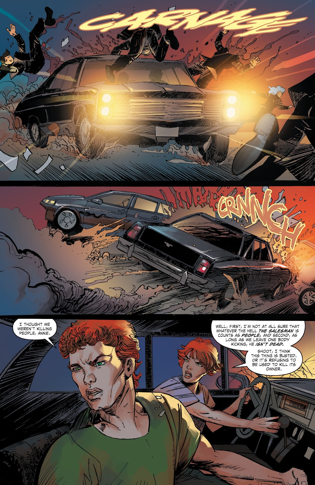 Read online The Curse of Brimstone: Ashes comic -  Issue # TPB (Part 2) - 34
