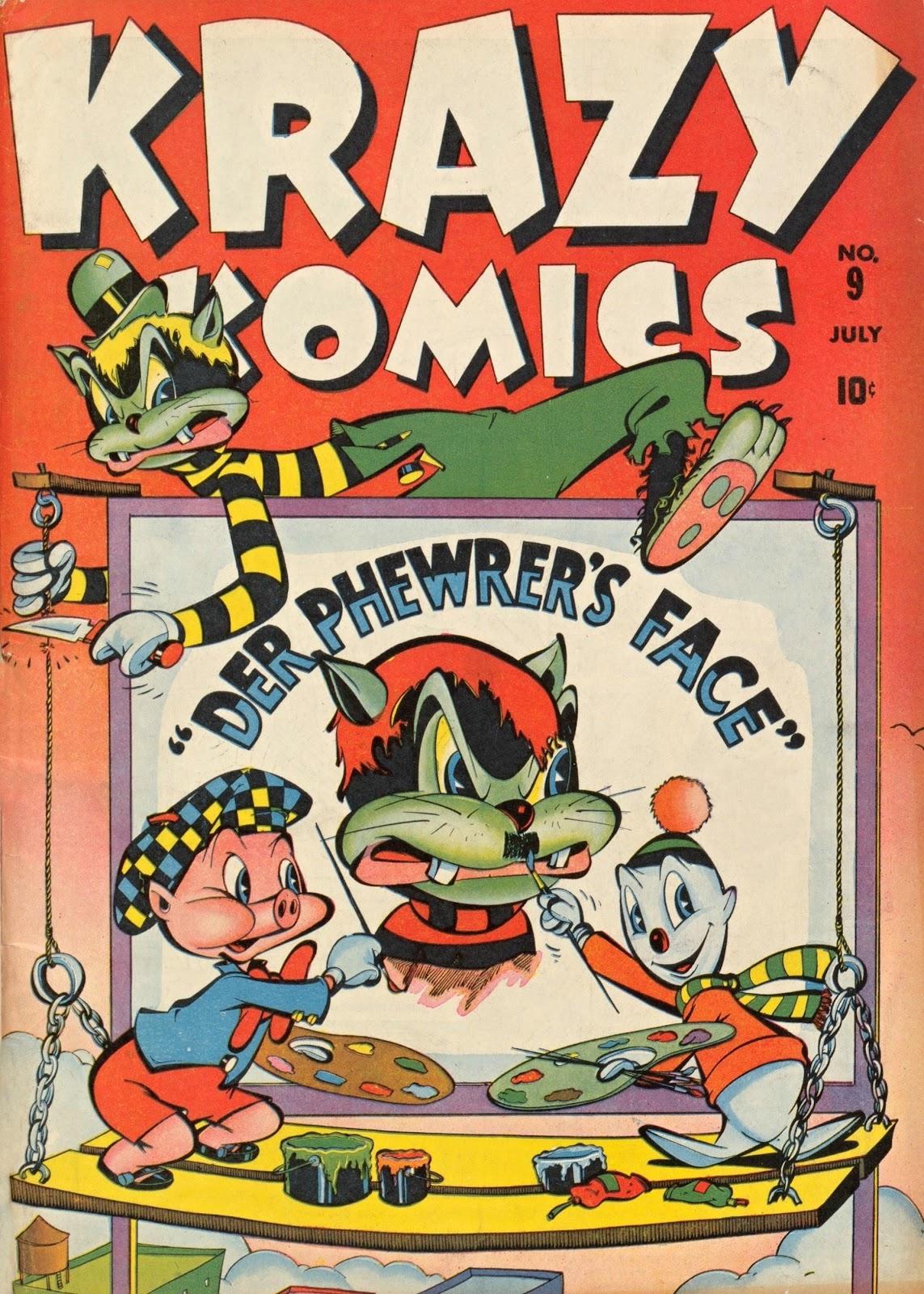 Krazy Komics issue 9 - Page 1