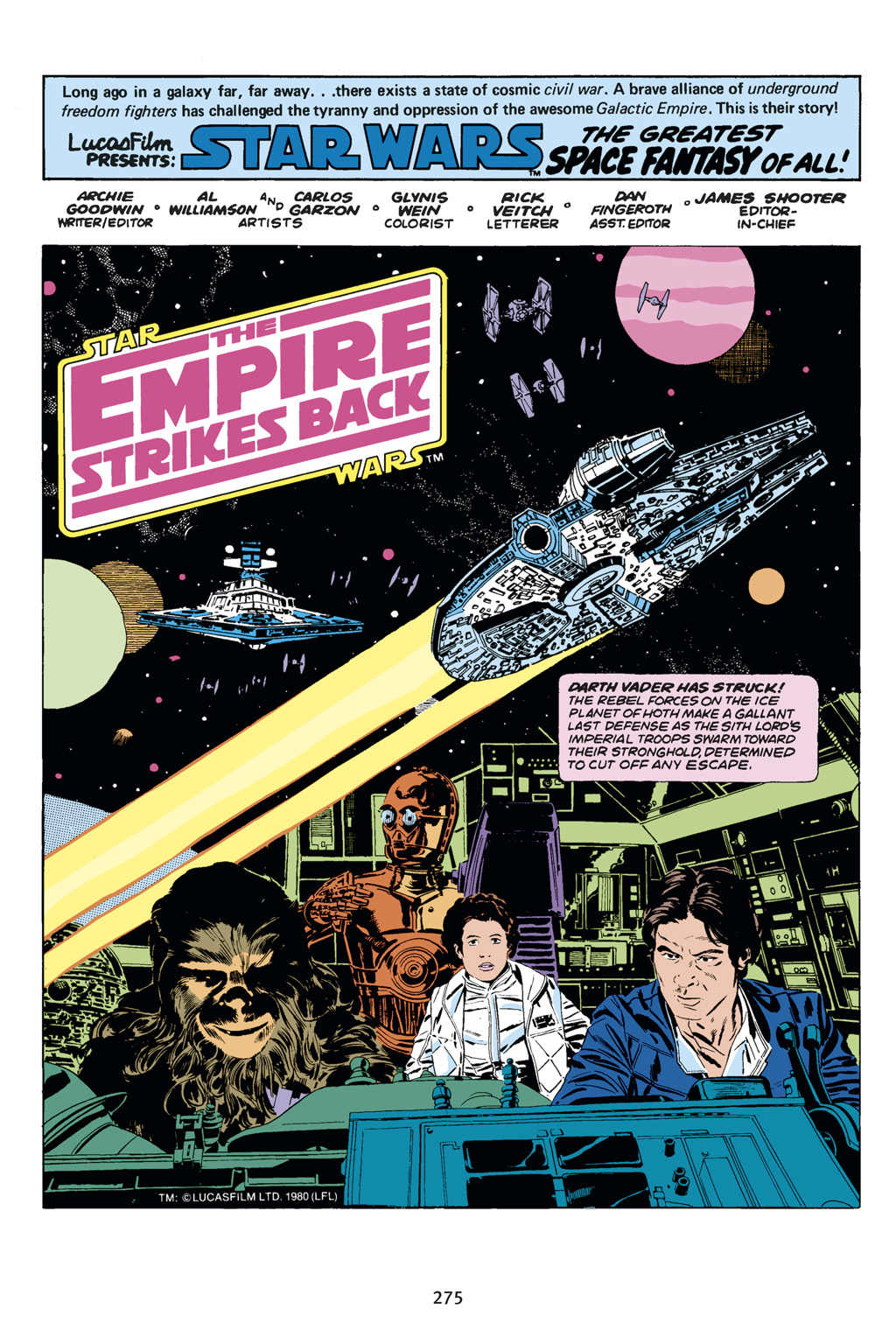 Read online Star Wars Omnibus comic -  Issue # Vol. 14 - 273