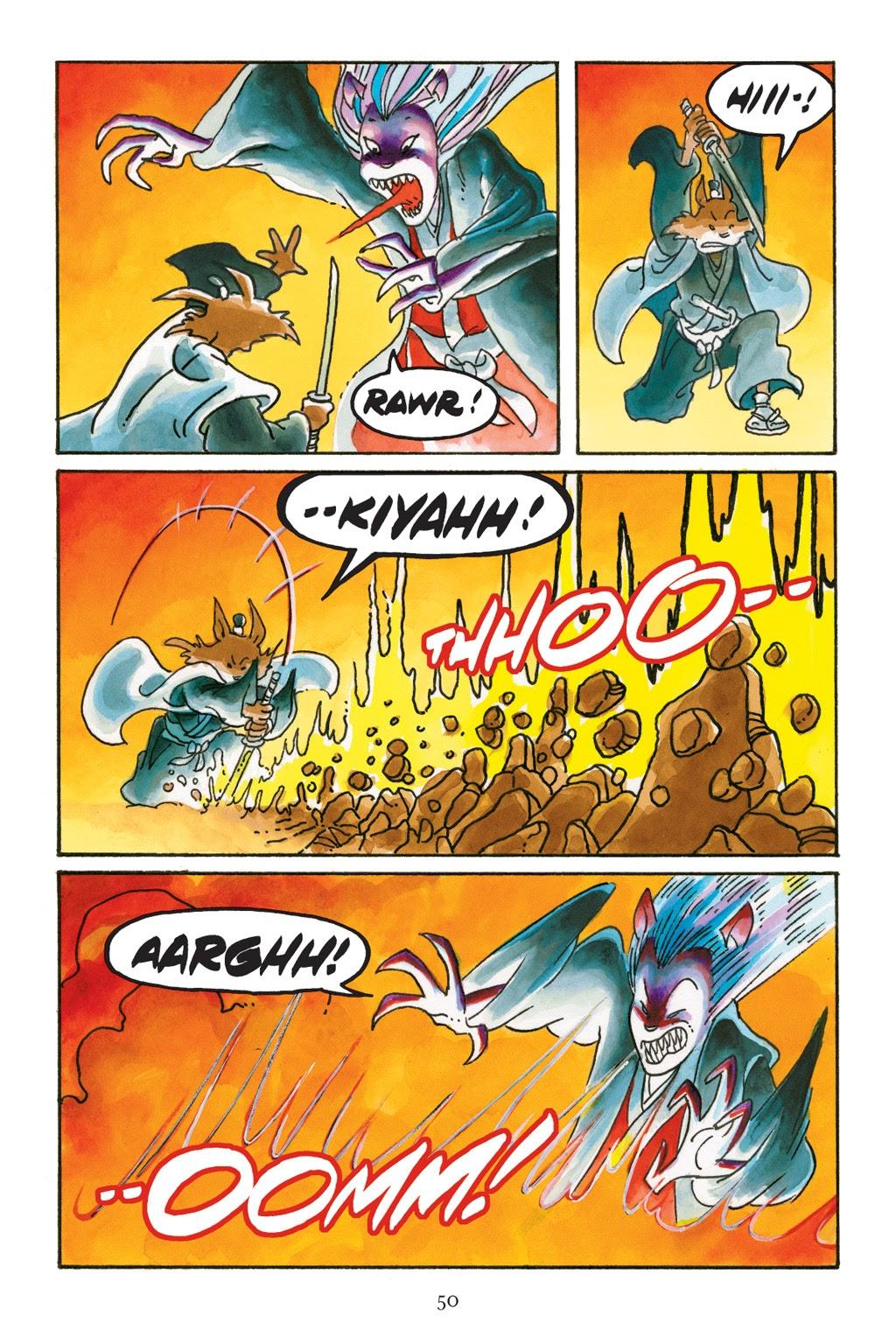 Read online Usagi Yojimbo: Yokai comic -  Issue # Full - 47