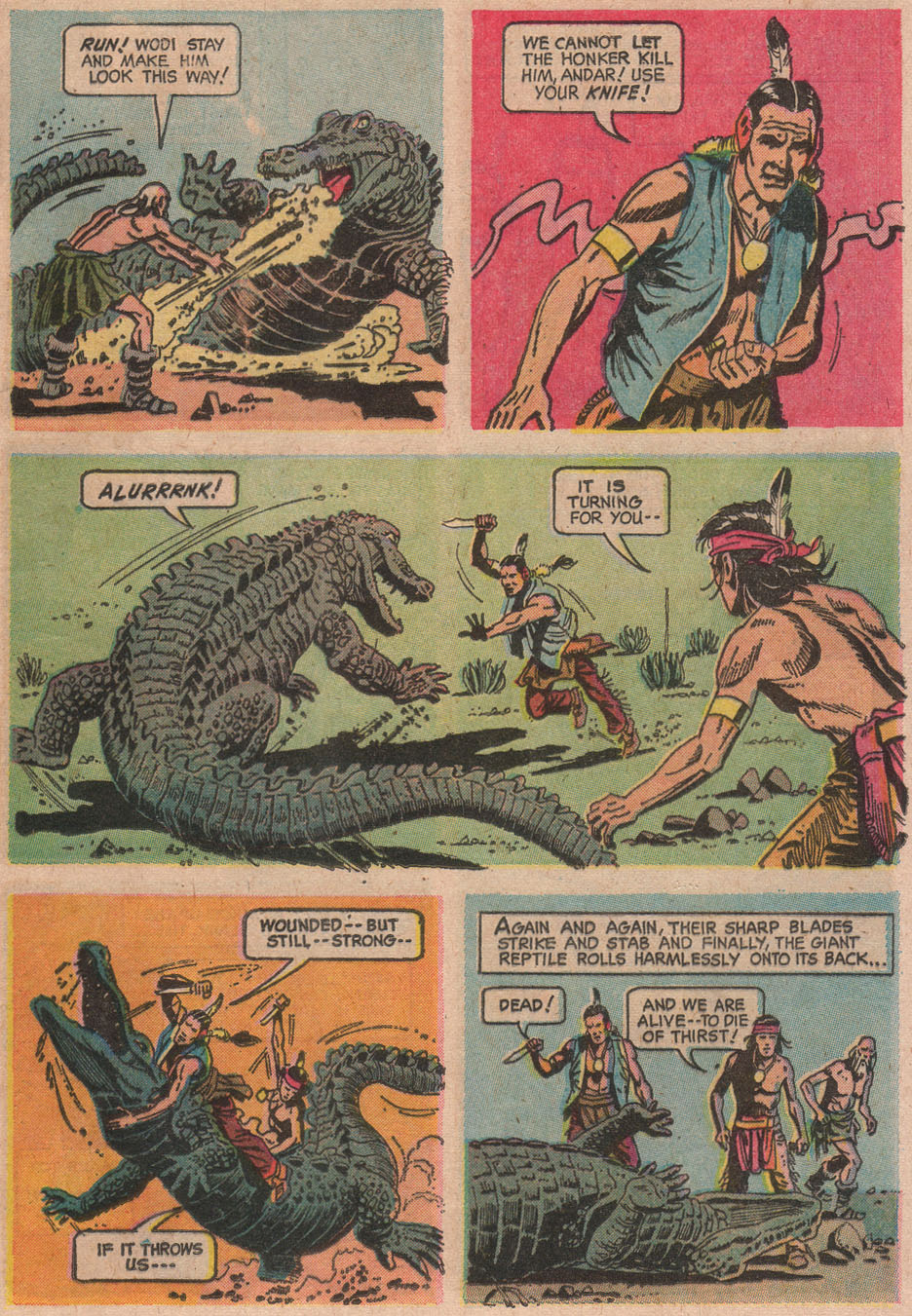 Read online Turok, Son of Stone comic -  Issue #63 - 25