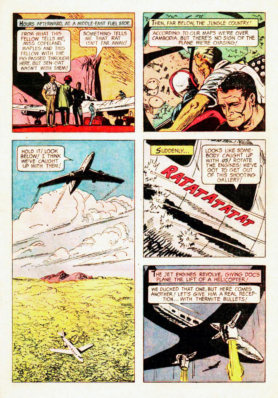 Read online Doc Savage (1966) comic -  Issue # Full - 21