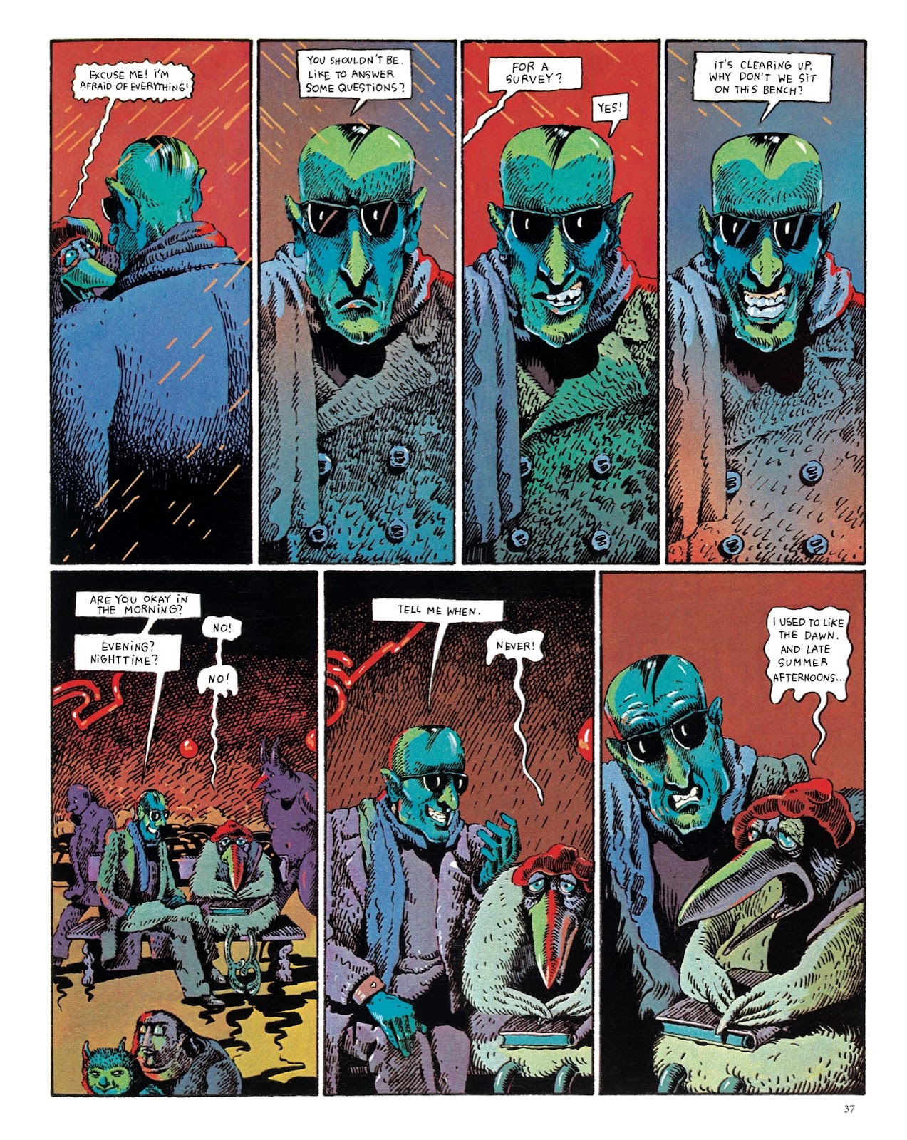 Read online The Green Hand and Other Stories comic -  Issue # TPB - 36