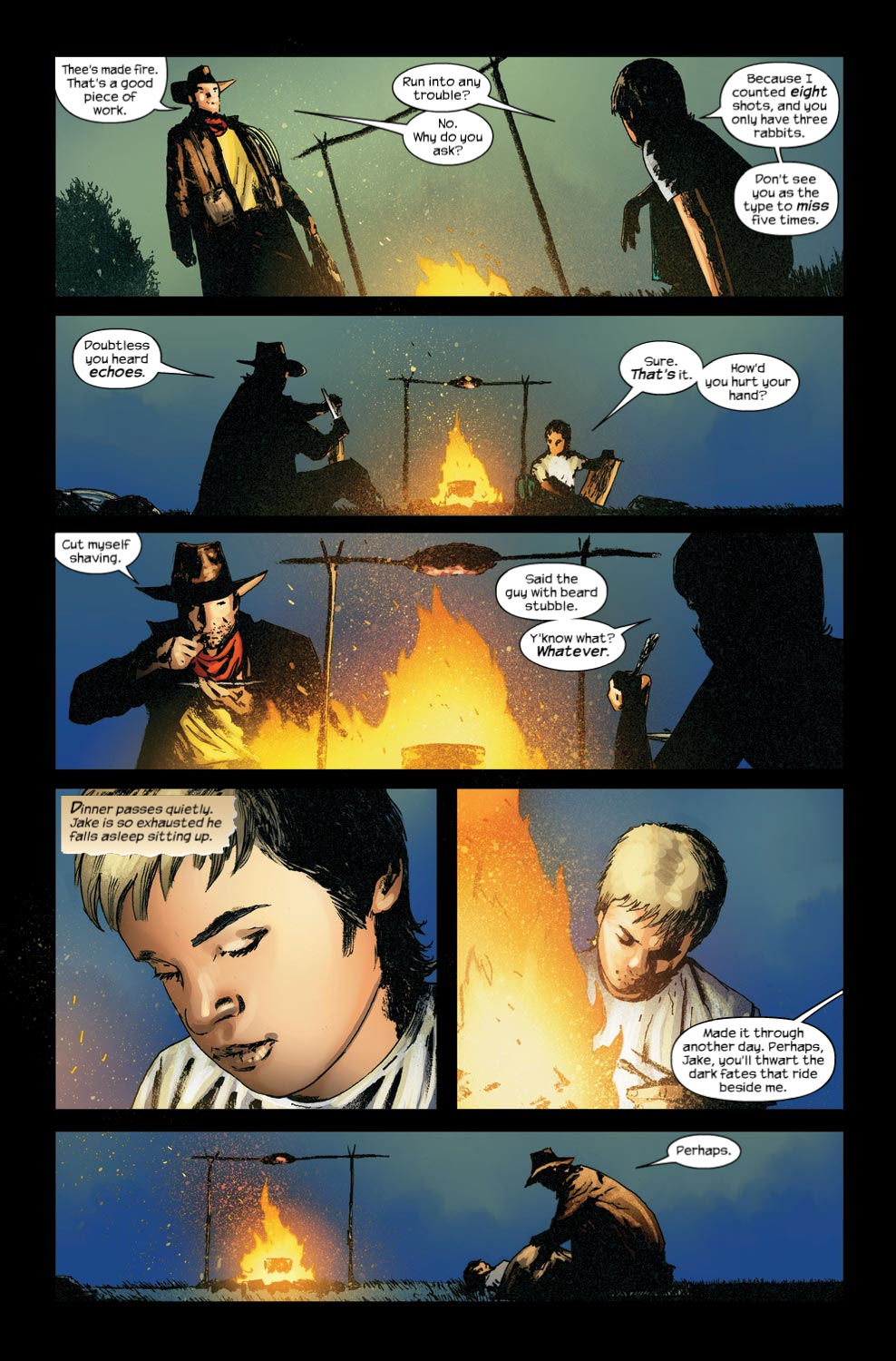 Read online Dark Tower: The Gunslinger - The Way Station comic -  Issue #4 - 15