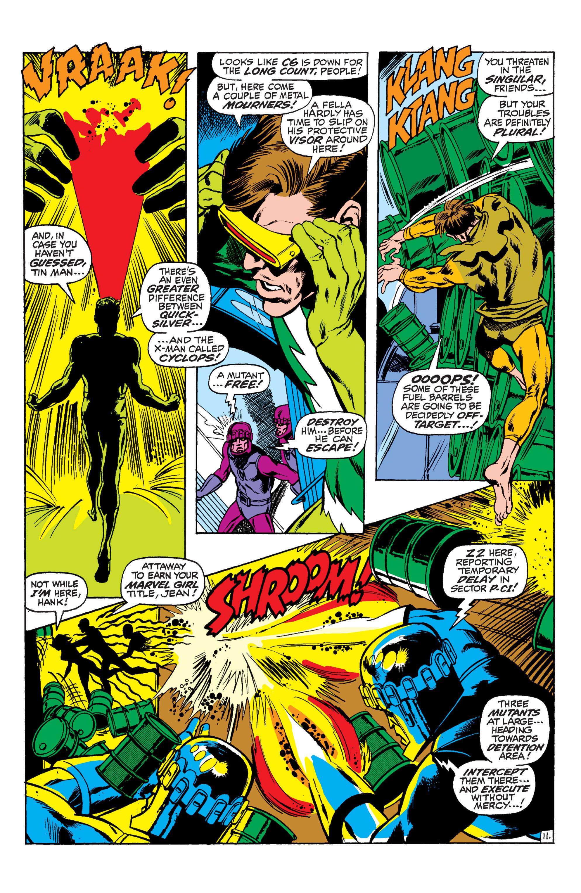 Read online Uncanny X-Men (1963) comic -  Issue #59 - 12