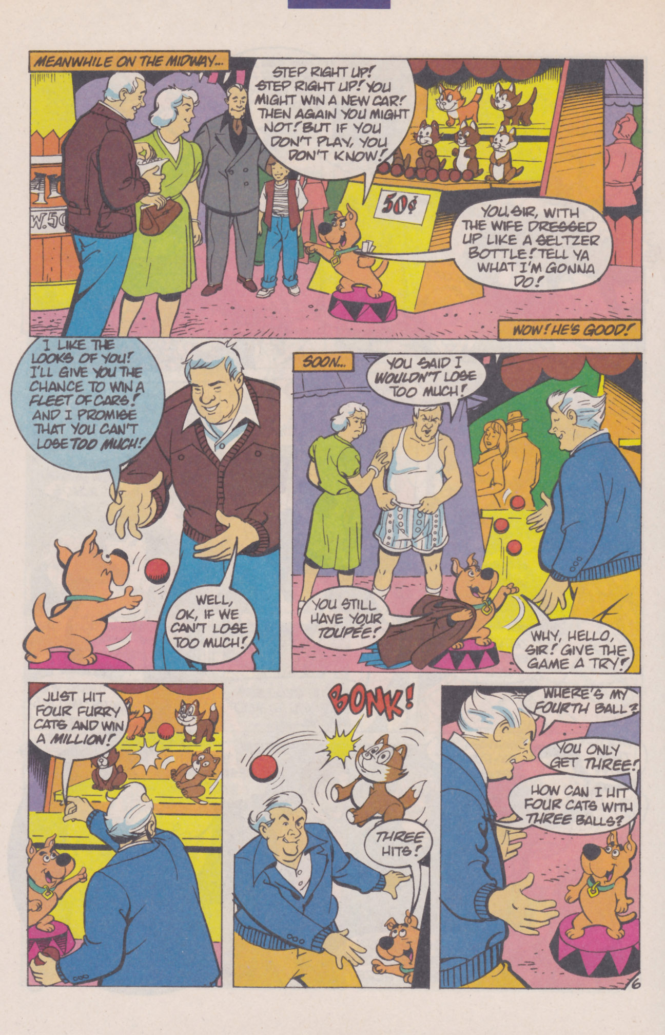 Read online Scooby-Doo (1995) comic -  Issue #8 - 8