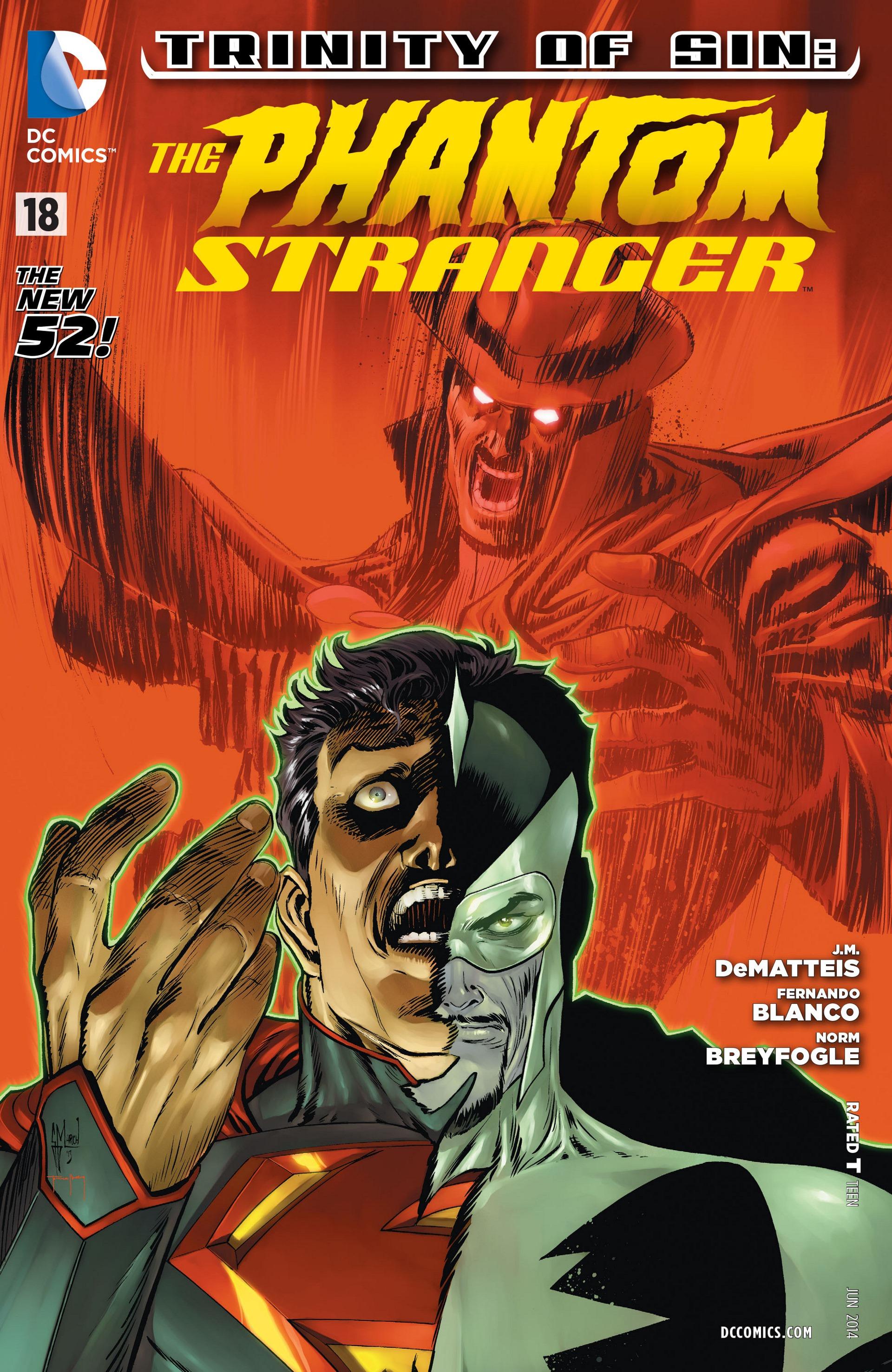Read online Trinity of Sin: The Phantom Stranger comic -  Issue #18 - 1