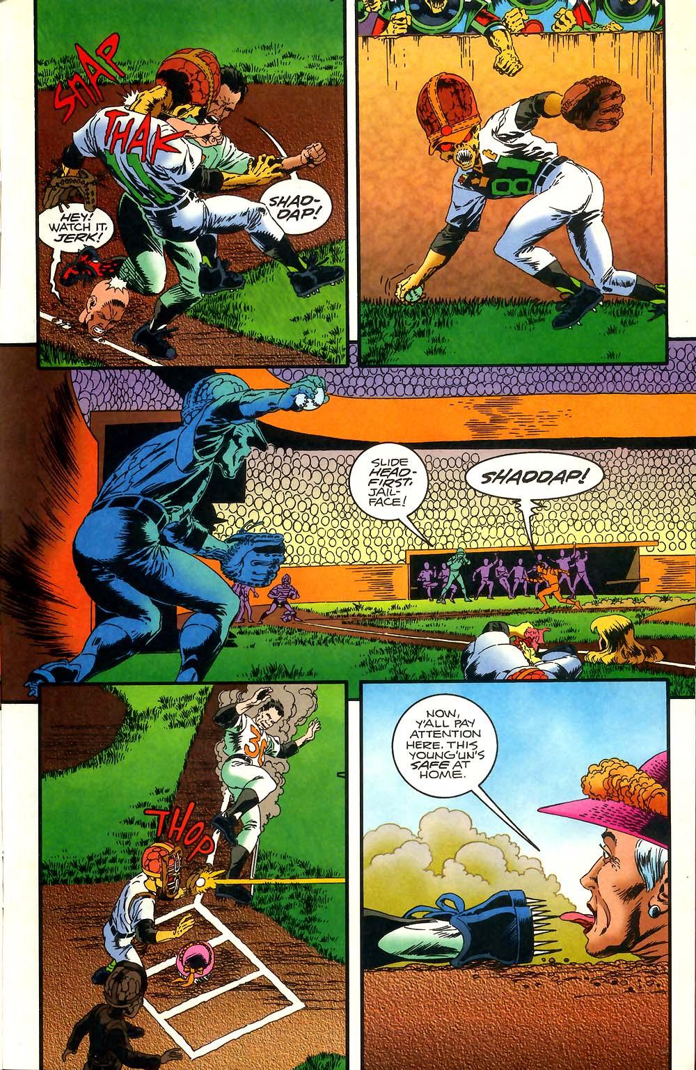 Read online Mars Attacks Baseball Special comic -  Issue # Full - 15