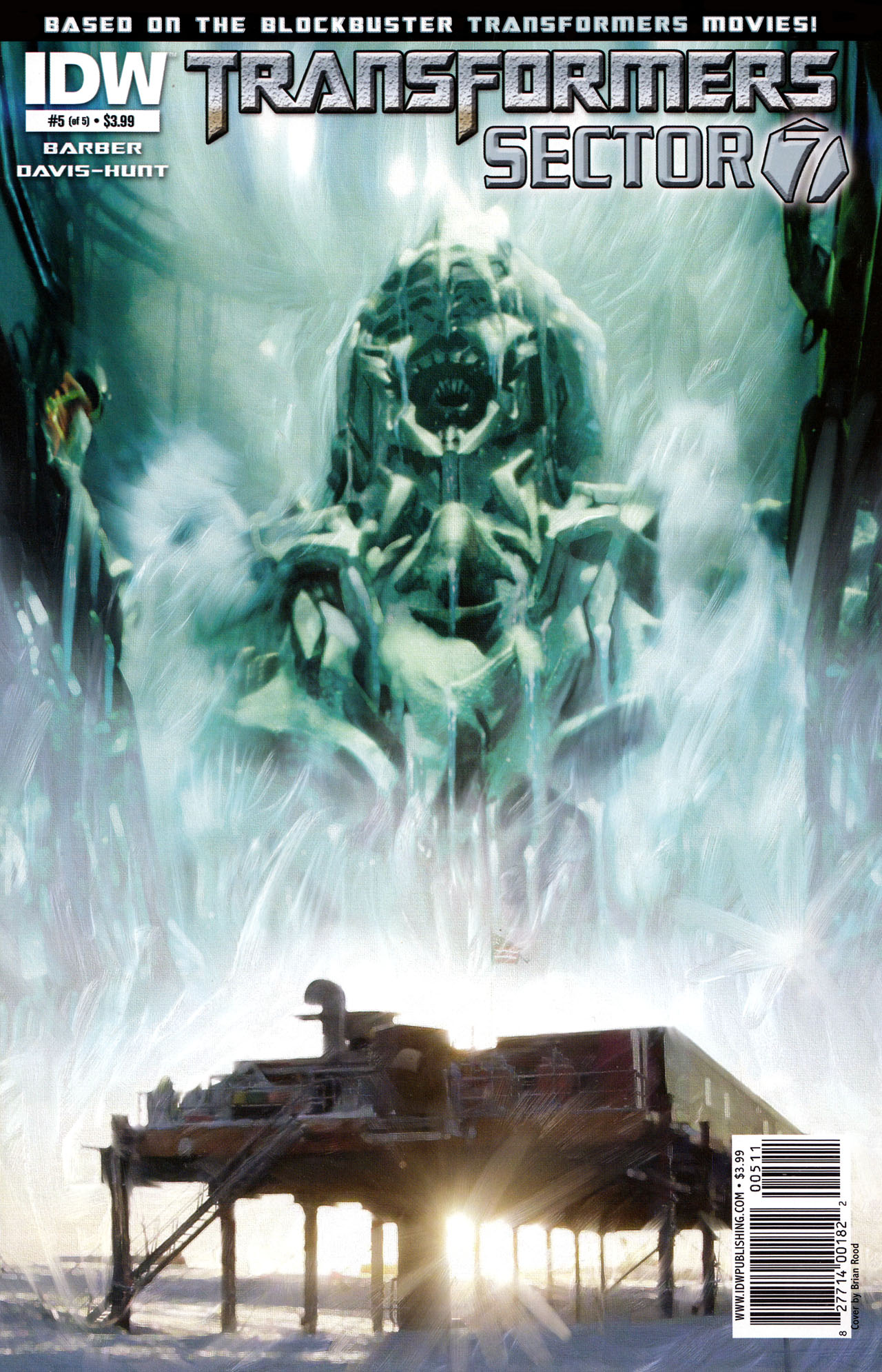 Read online Transformers: Sector 7 comic -  Issue #5 - 1