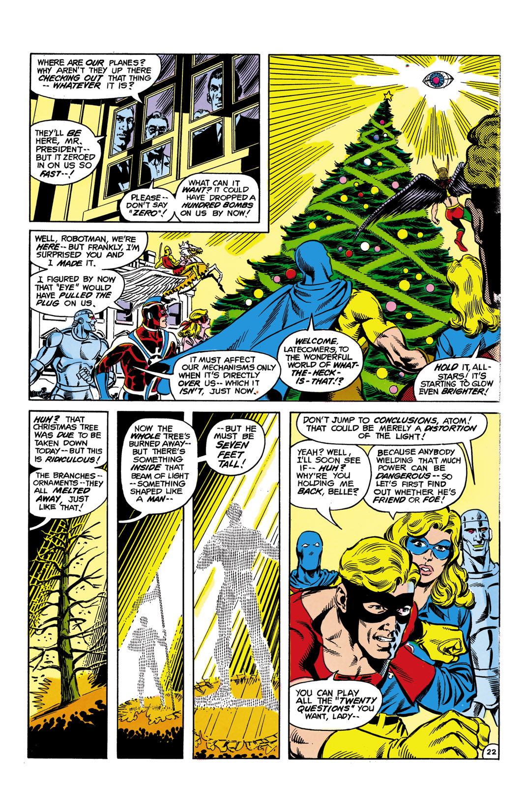Read online All-Star Squadron comic -  Issue #10 - 23