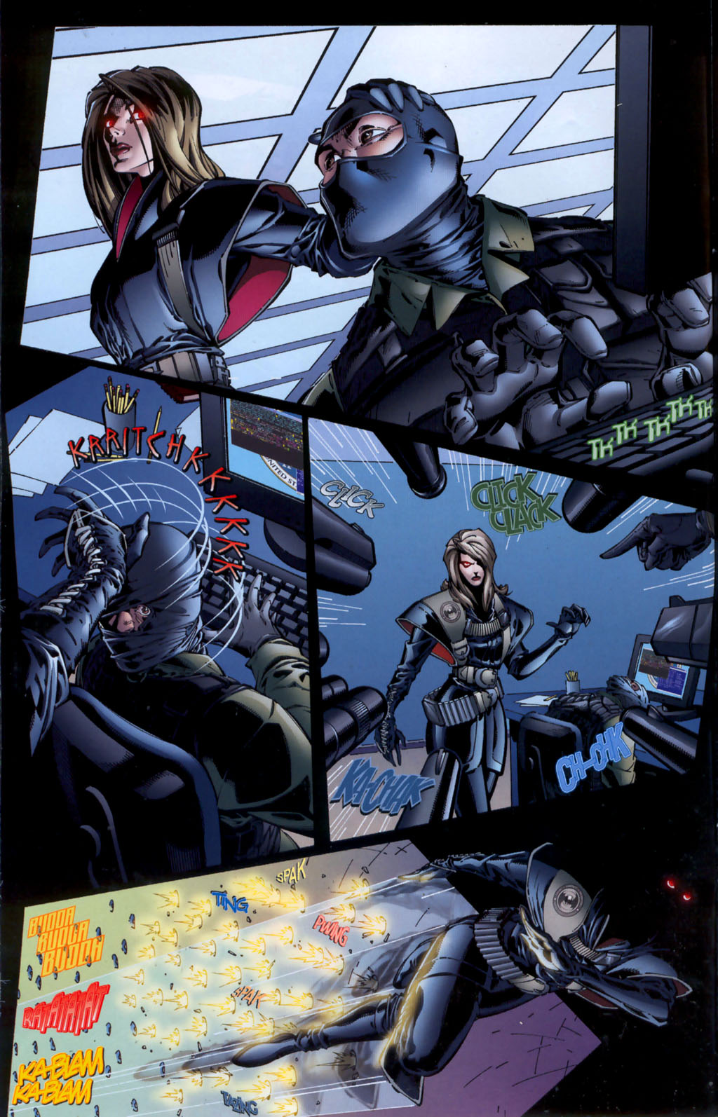Read online CVO: Covert Vampiric Operations - Human Touch comic -  Issue # Full - 20