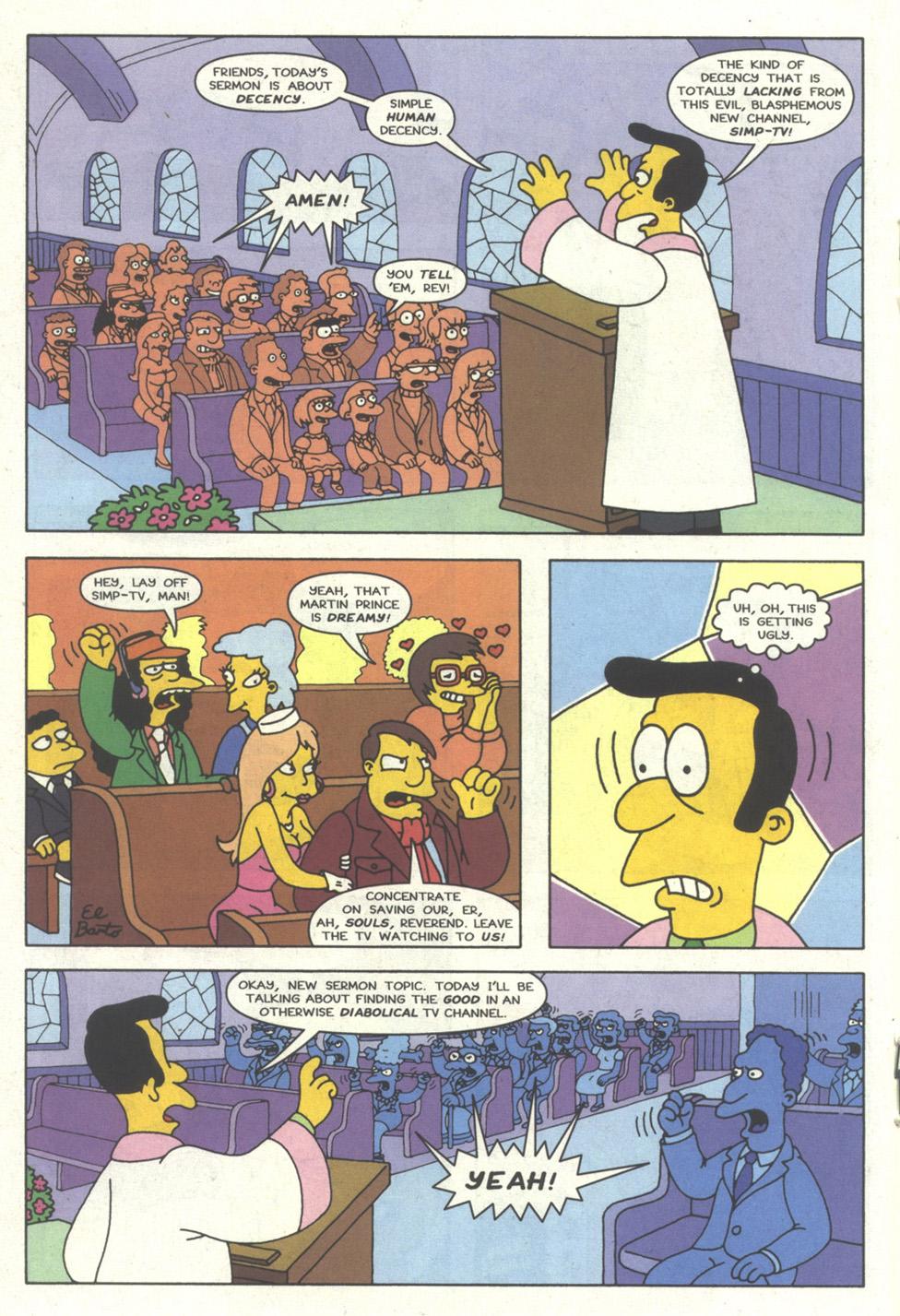 Read online Simpsons Comics comic -  Issue #17 - 17