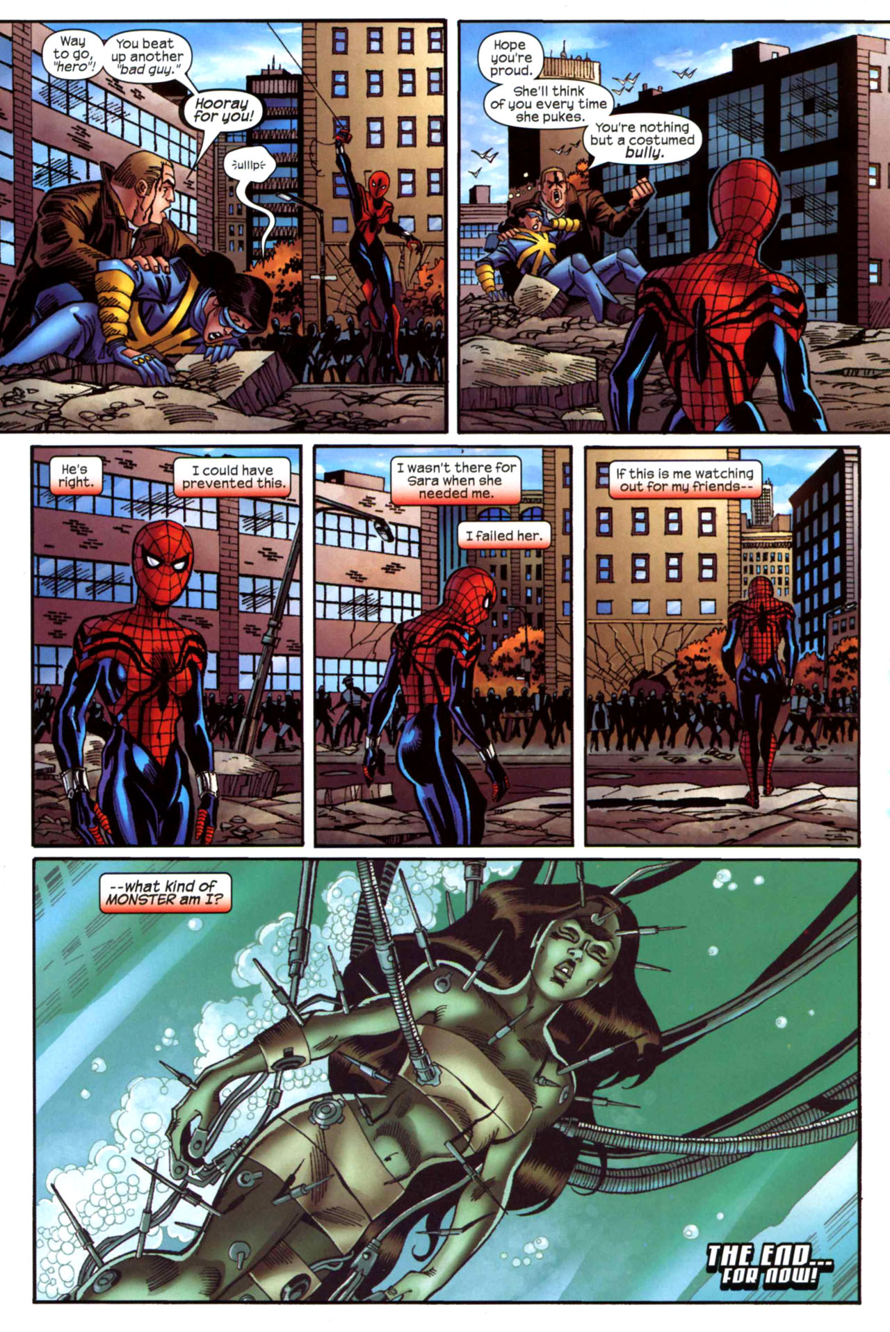 Read online Amazing Spider-Girl comic -  Issue #21 - 23
