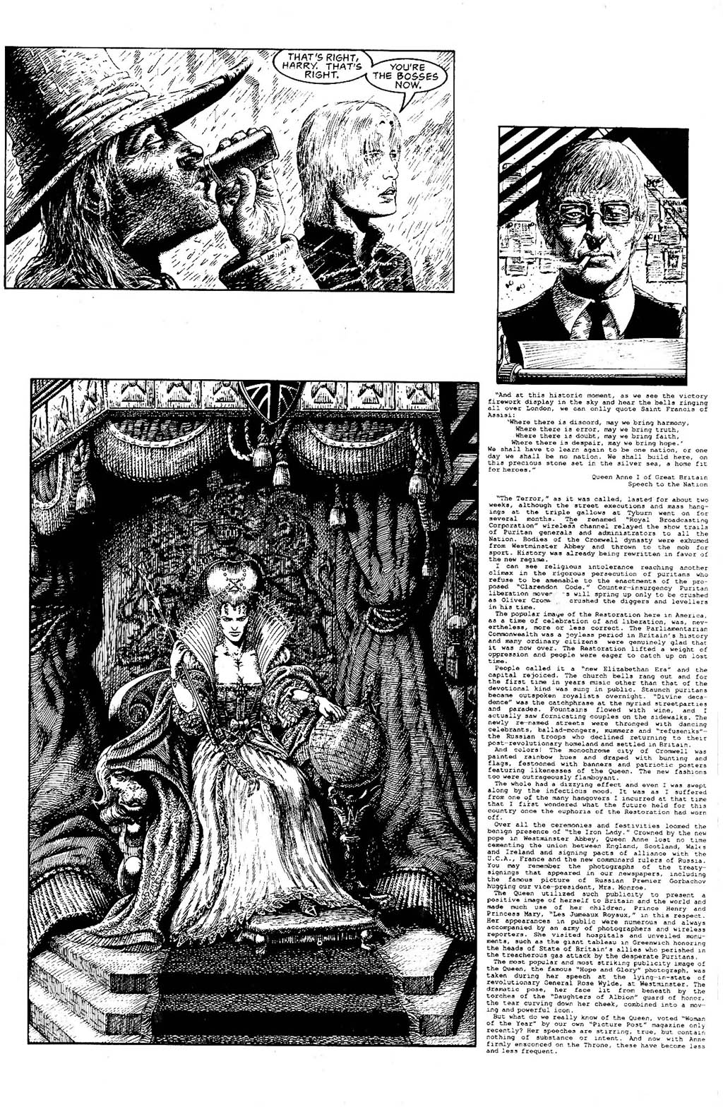 Read online The Adventures of Luther Arkwright comic -  Issue #9 - 21