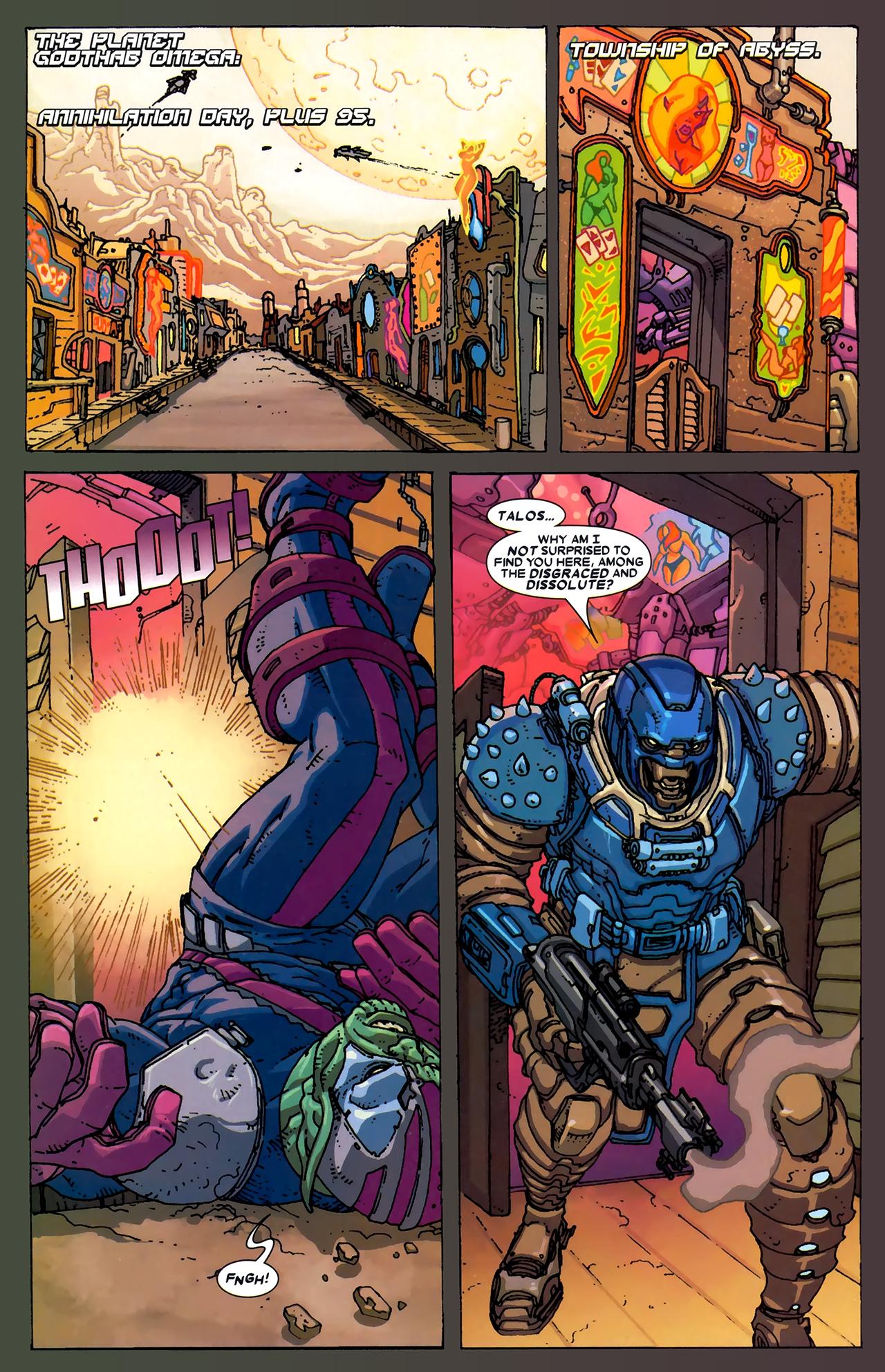 Read online Annihilation: Ronan comic -  Issue #2 - 3