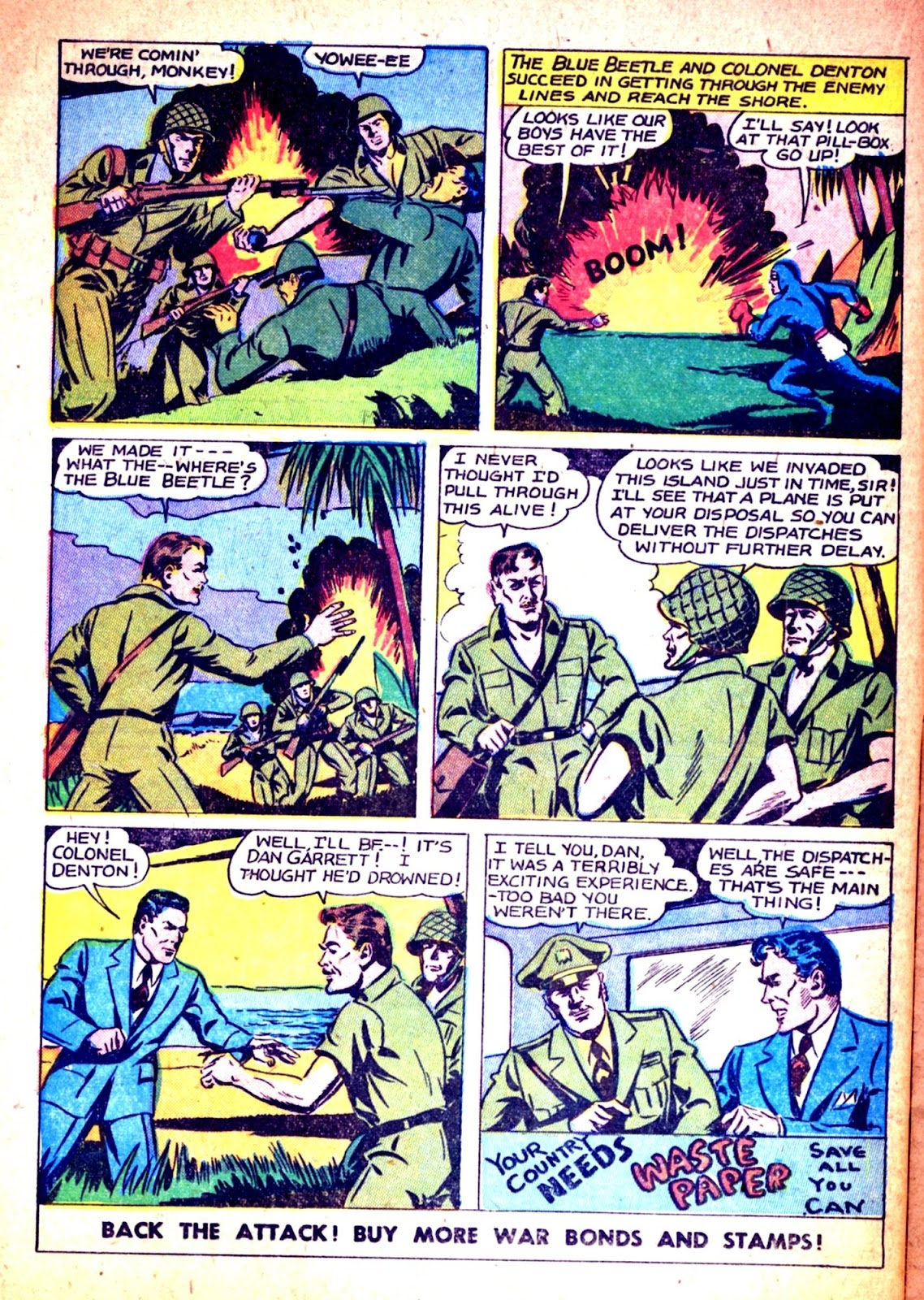 The Blue Beetle issue 31 - Page 24