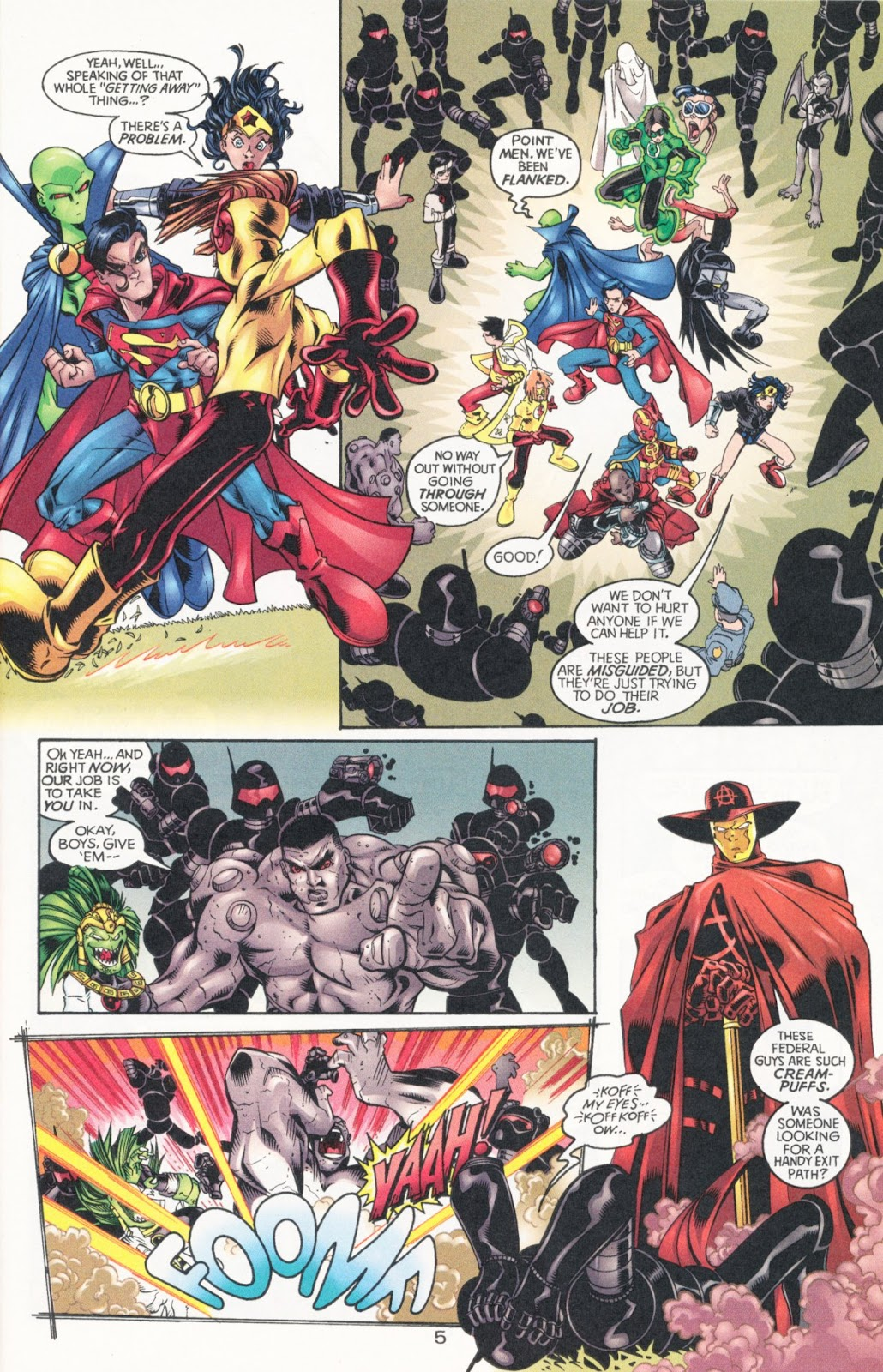 Sins of Youth issue JLA Jr. - Page 9